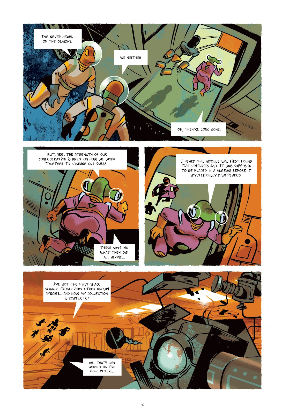 Read online Infinity 8 comic -  Issue # _TPB 3 - 43
