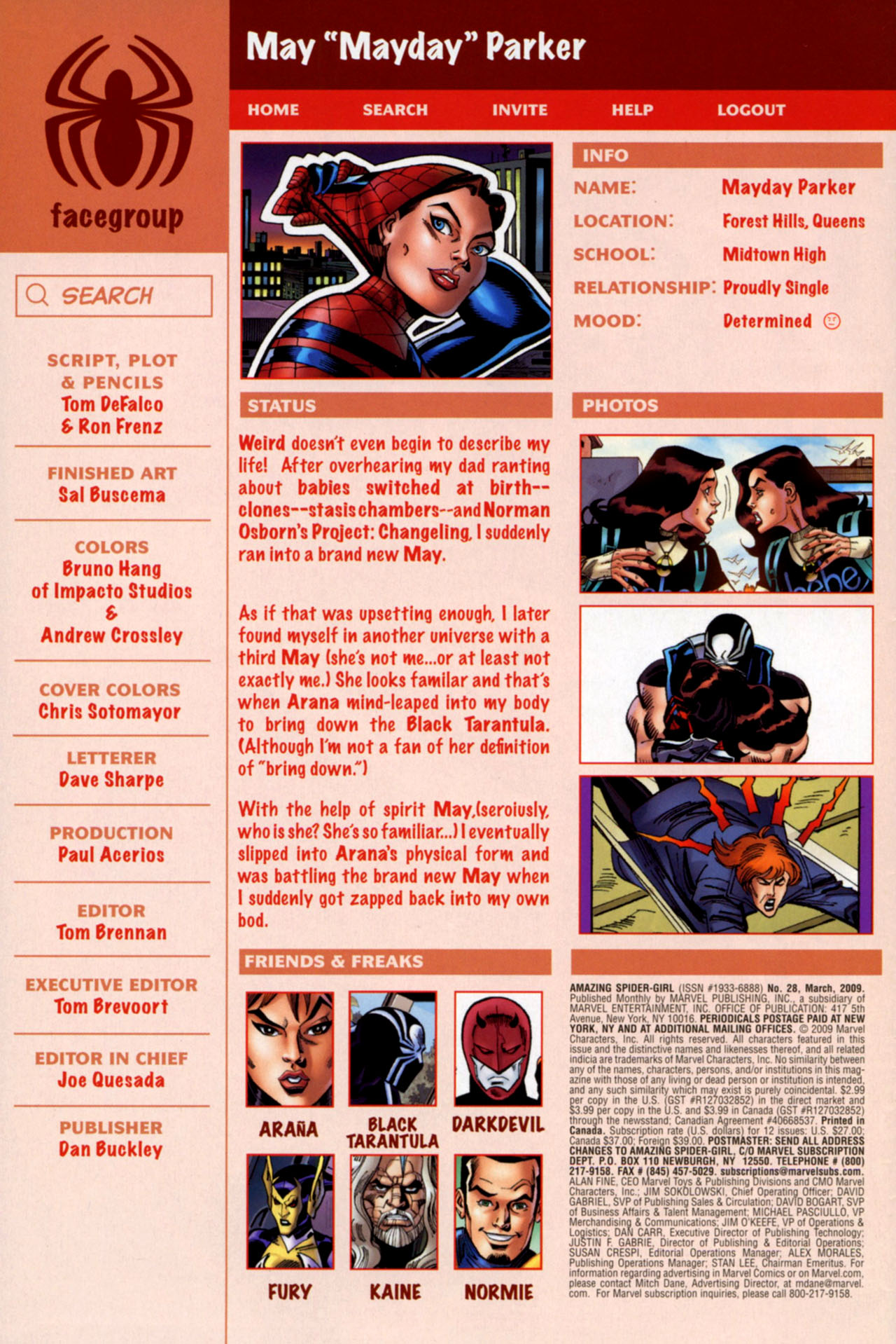 Read online Amazing Spider-Girl comic -  Issue #28 - 3