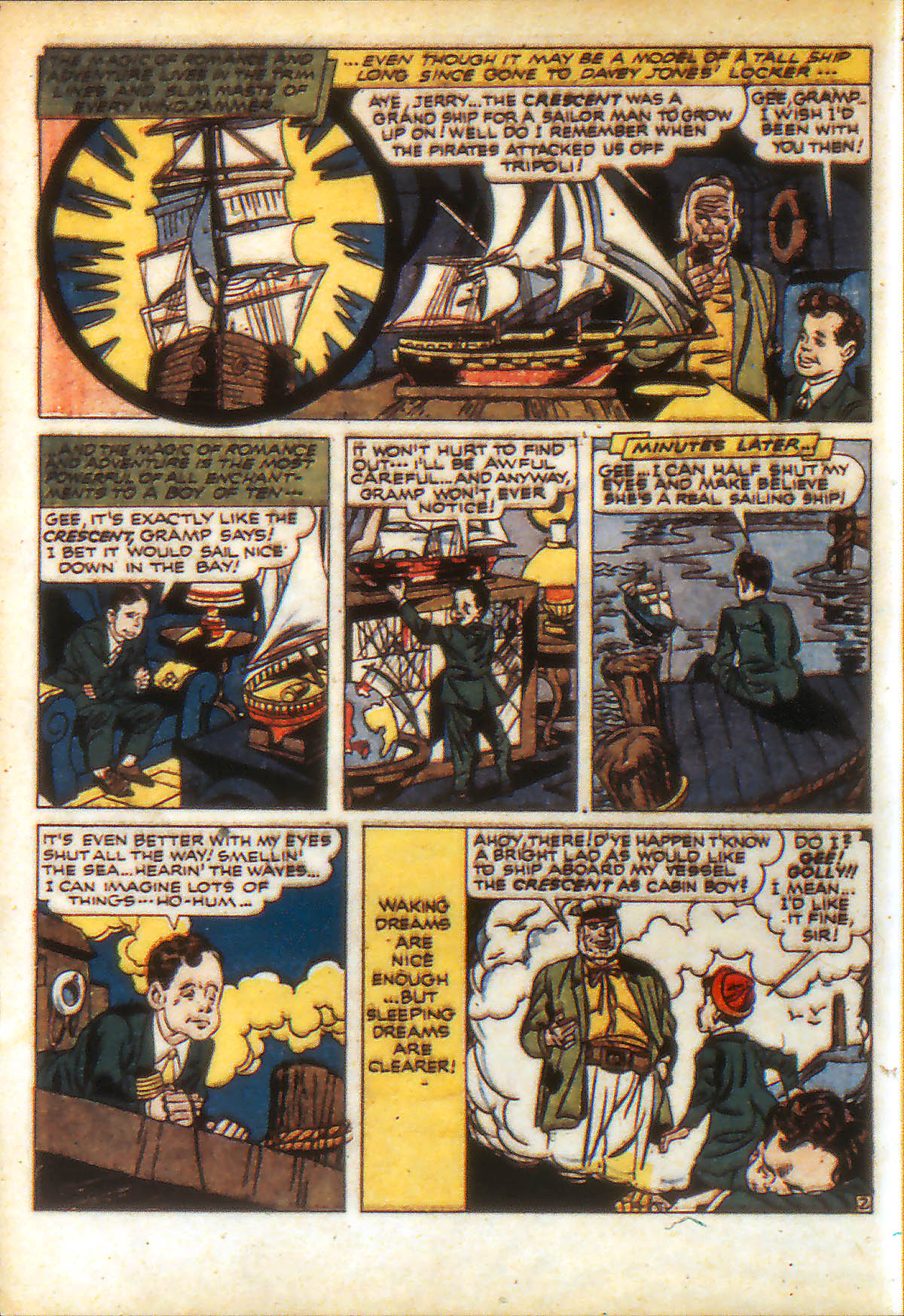 Read online Adventure Comics (1938) comic -  Issue #88 - 4