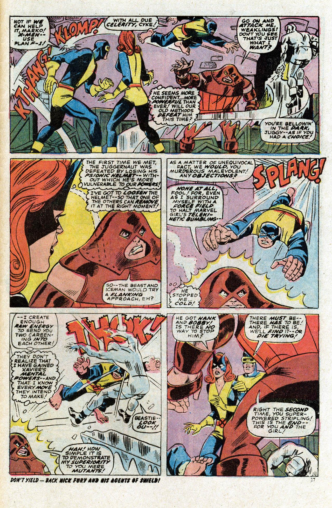 Uncanny X-Men (1963) 80 Page 28