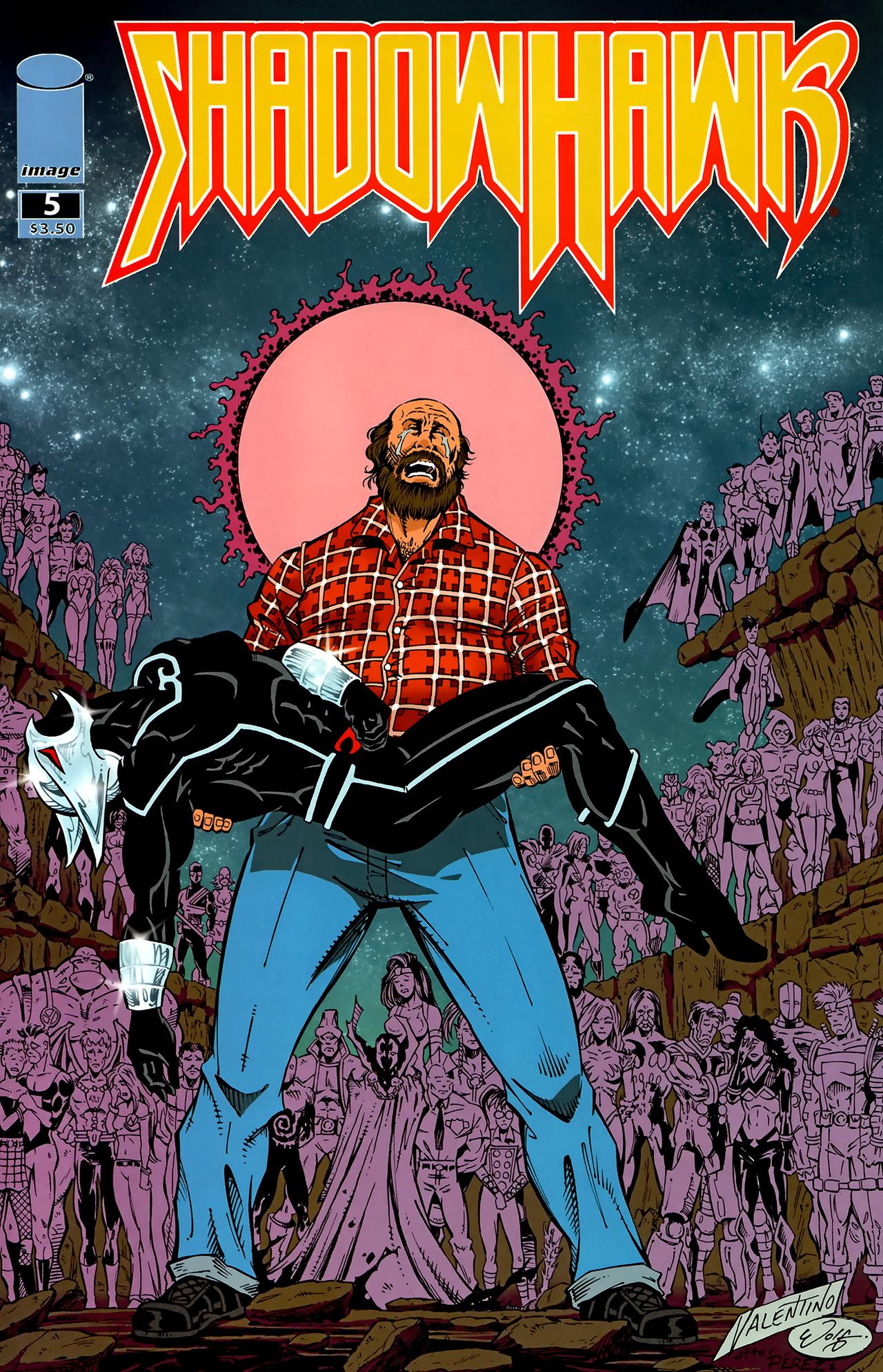 Read online ShadowHawk (2010) comic -  Issue #5 - 1