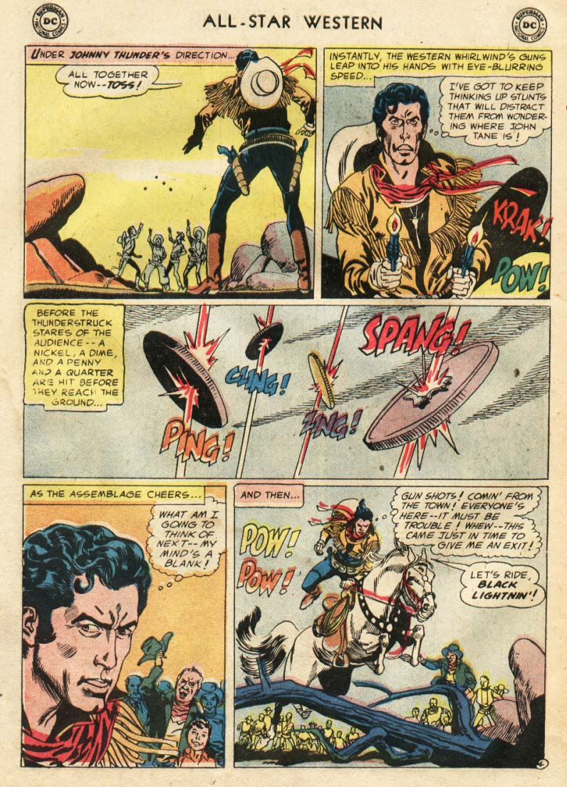 Read online All-Star Western (1951) comic -  Issue #91 - 23