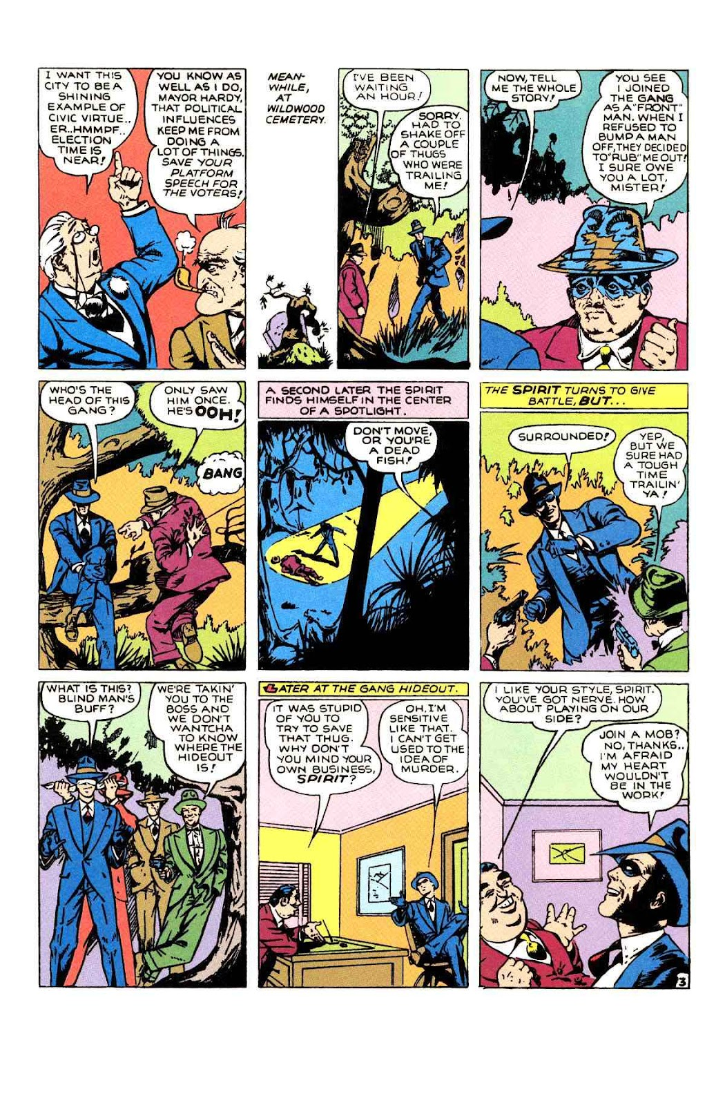 Read online Will Eisner's The Spirit Archives comic -  Issue # TPB 1 (Part 2) - 16