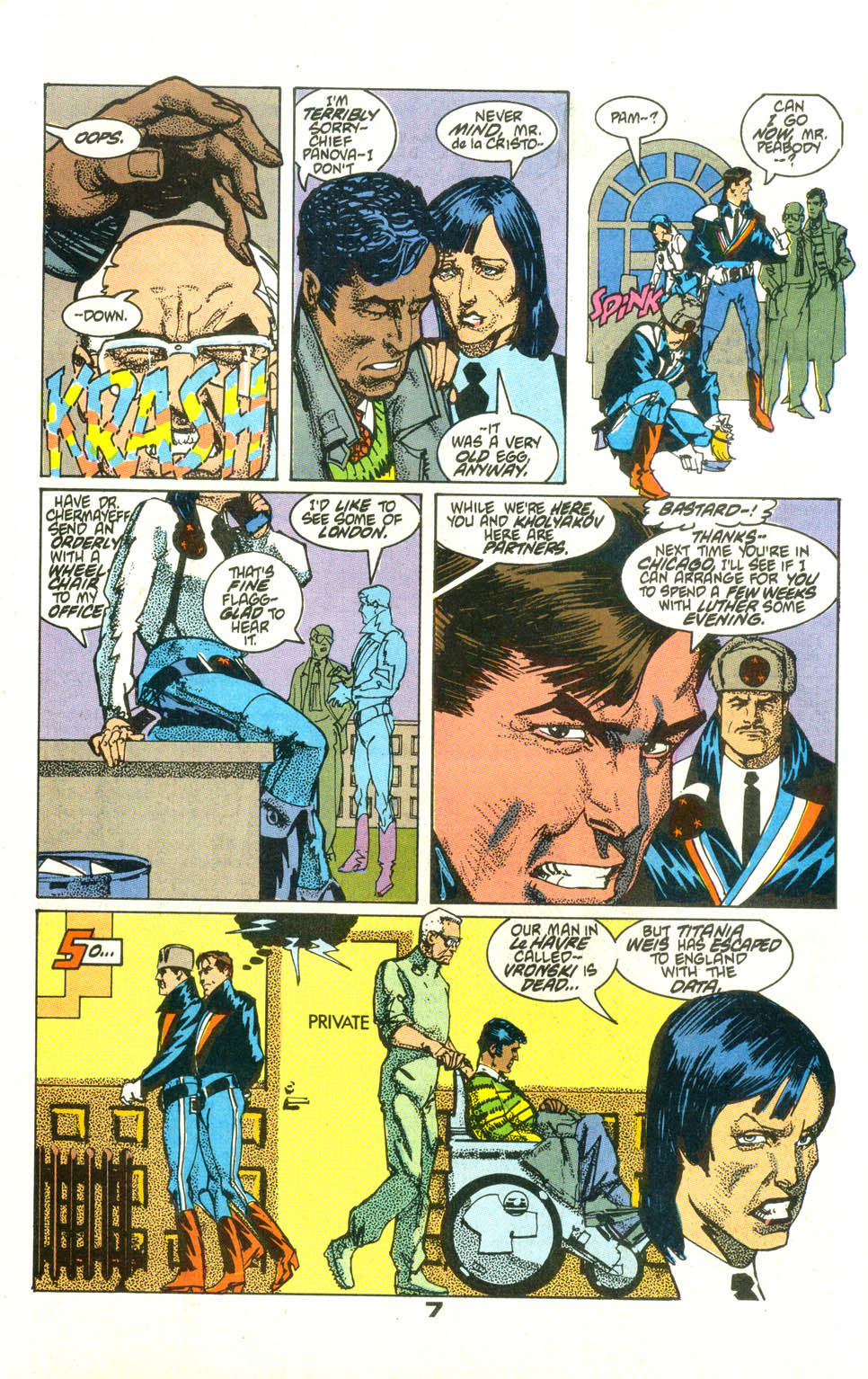 Read online American Flagg! comic -  Issue #23 - 9