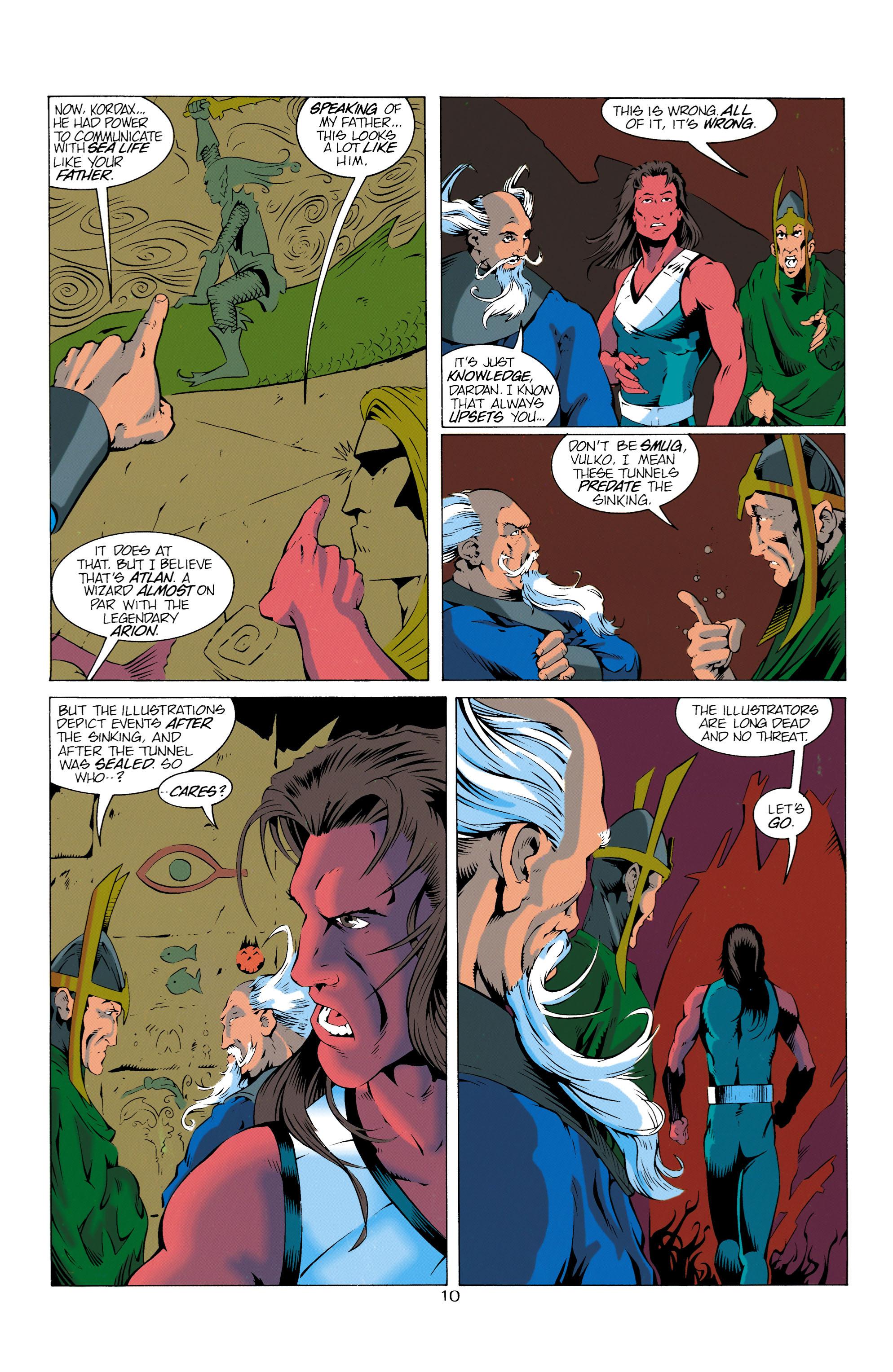 Read online Aquaman (1994) comic -  Issue #14 - 11
