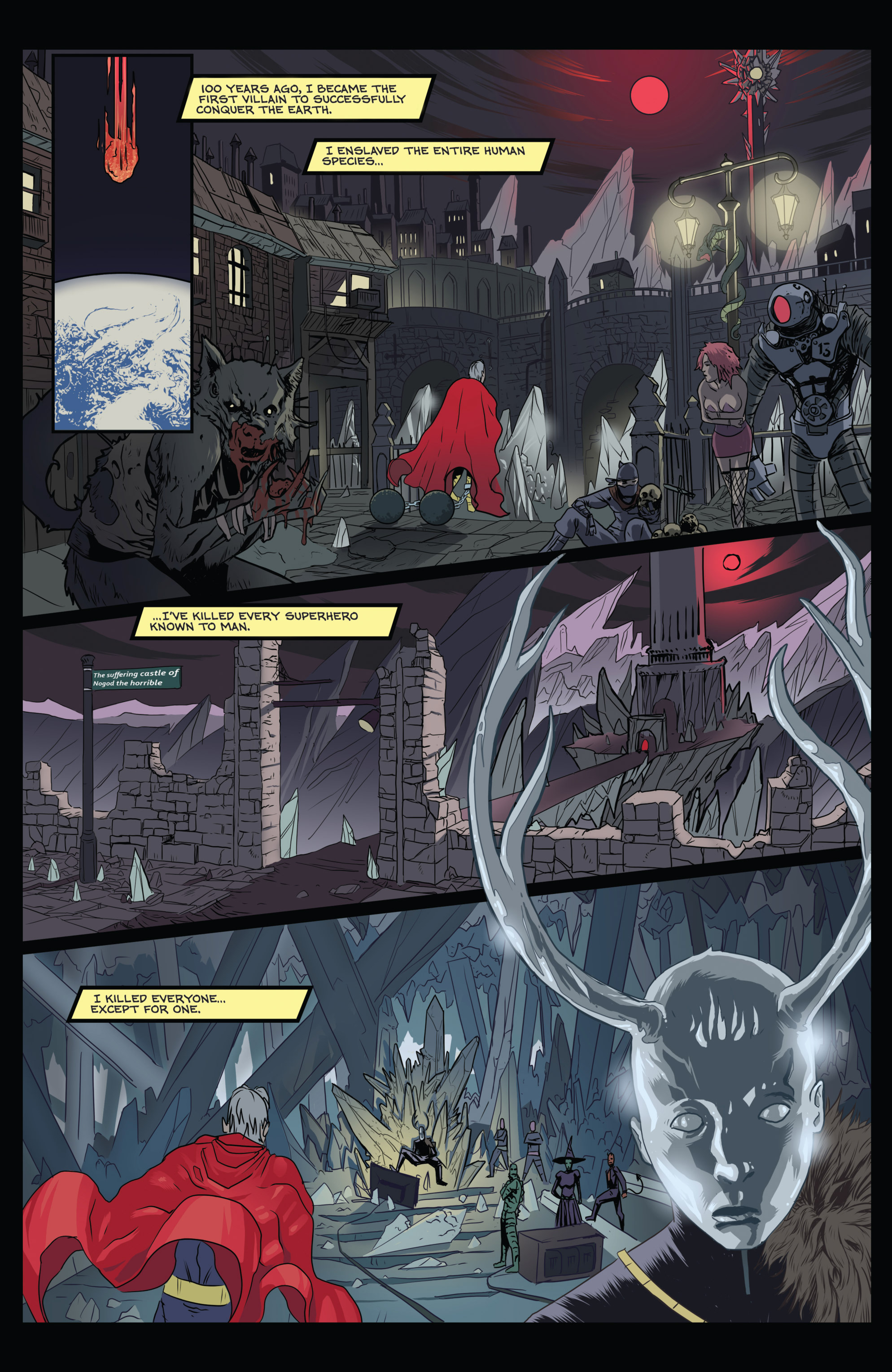 Read online Amazing Forest (2016) comic -  Issue #5 - 3