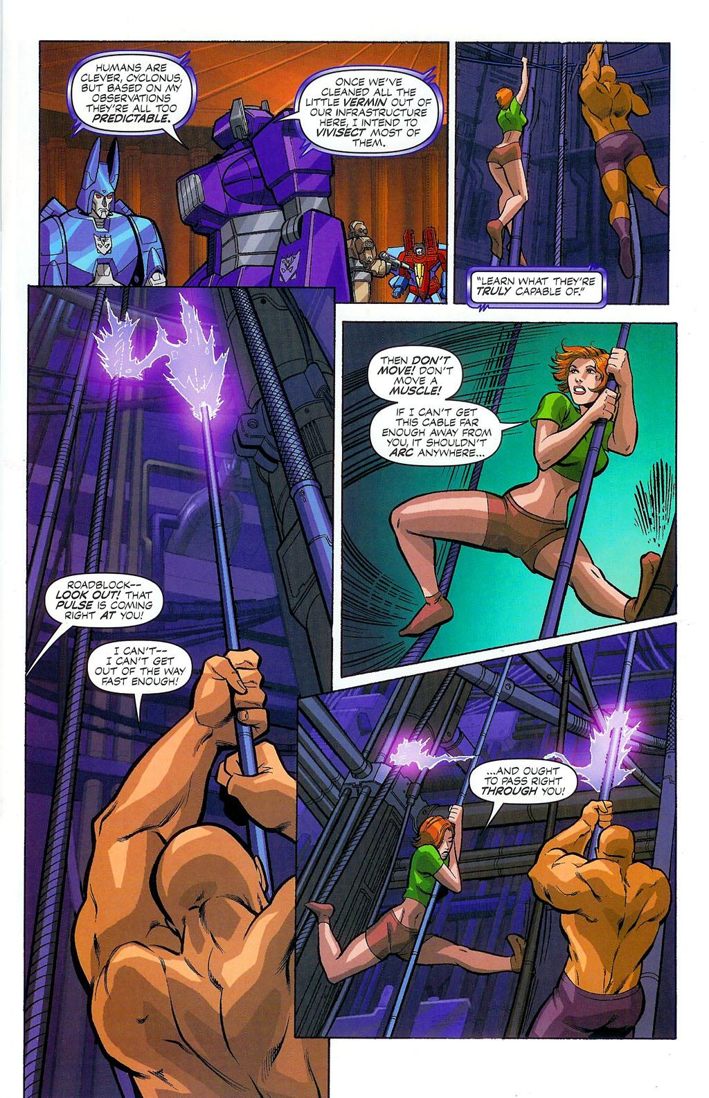 G.I. Joe vs. The Transformers II Issue #4 #5 - English 7