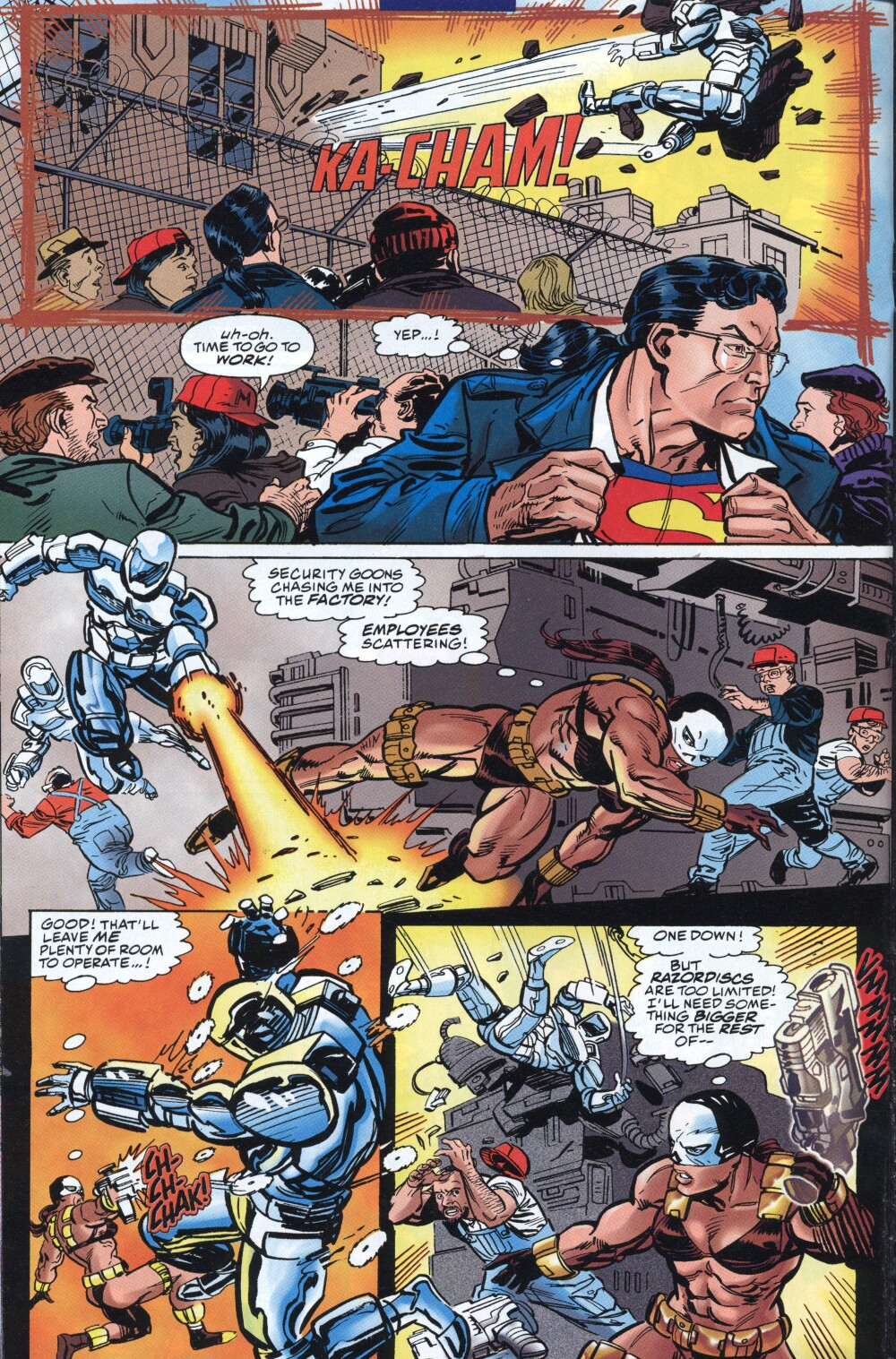 Read online Action Comics (1938) comic -  Issue #718 - 16