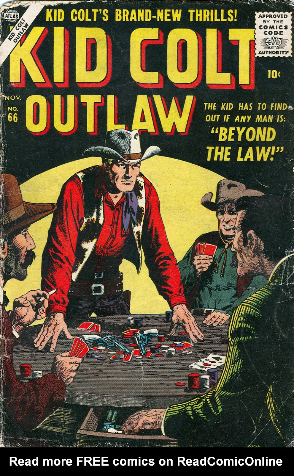 Kid Colt Outlaw issue 66 - Page 1