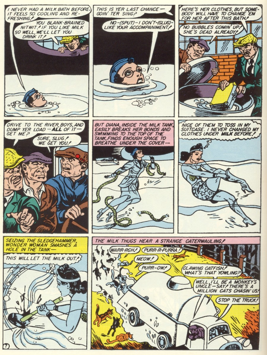 Read online Sensation (Mystery) Comics comic -  Issue #7 - 9