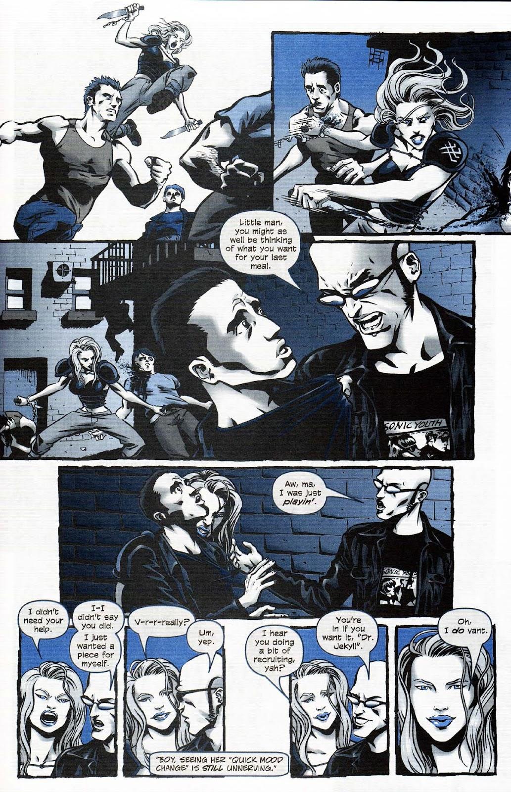 Read online Werewolf the Apocalypse comic -  Issue # Get of Fenris - 7