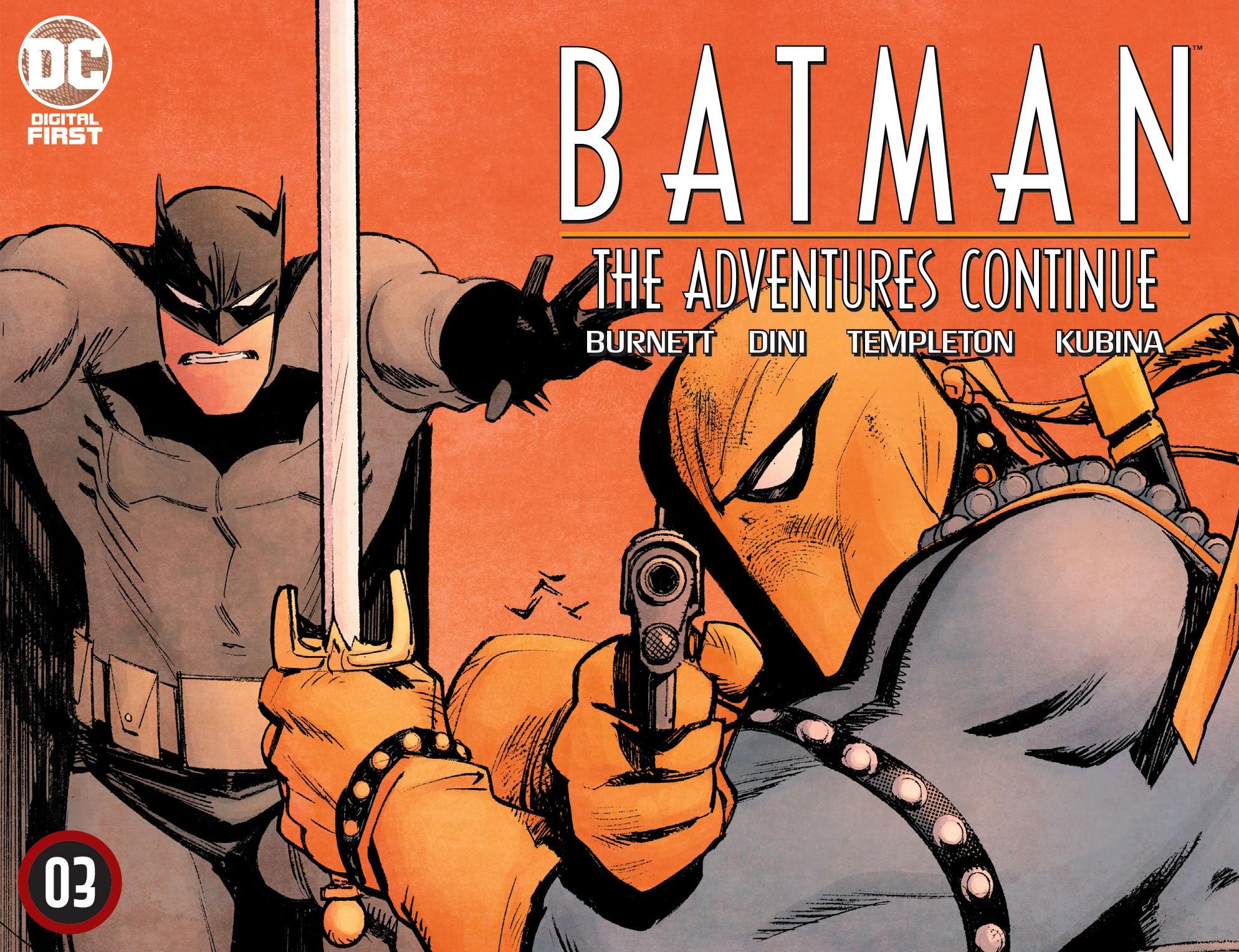 Batman: The Adventures Continue 3 Page 1
