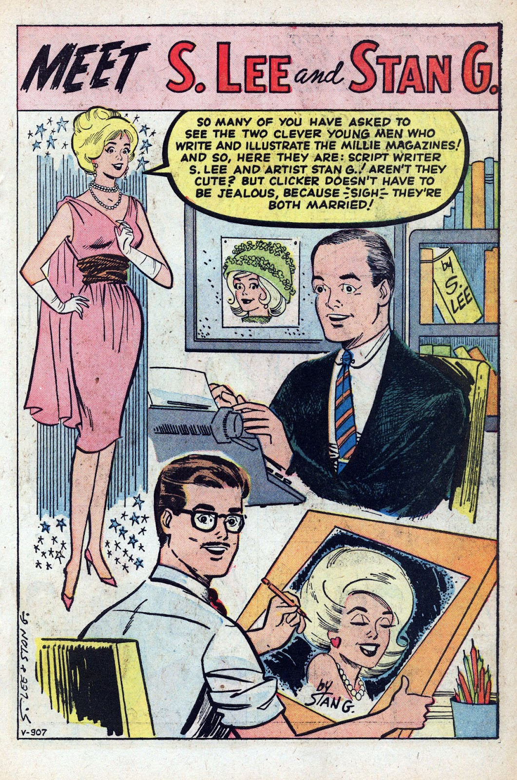 Read online Millie the Model comic -  Issue # Annual 1 - 63