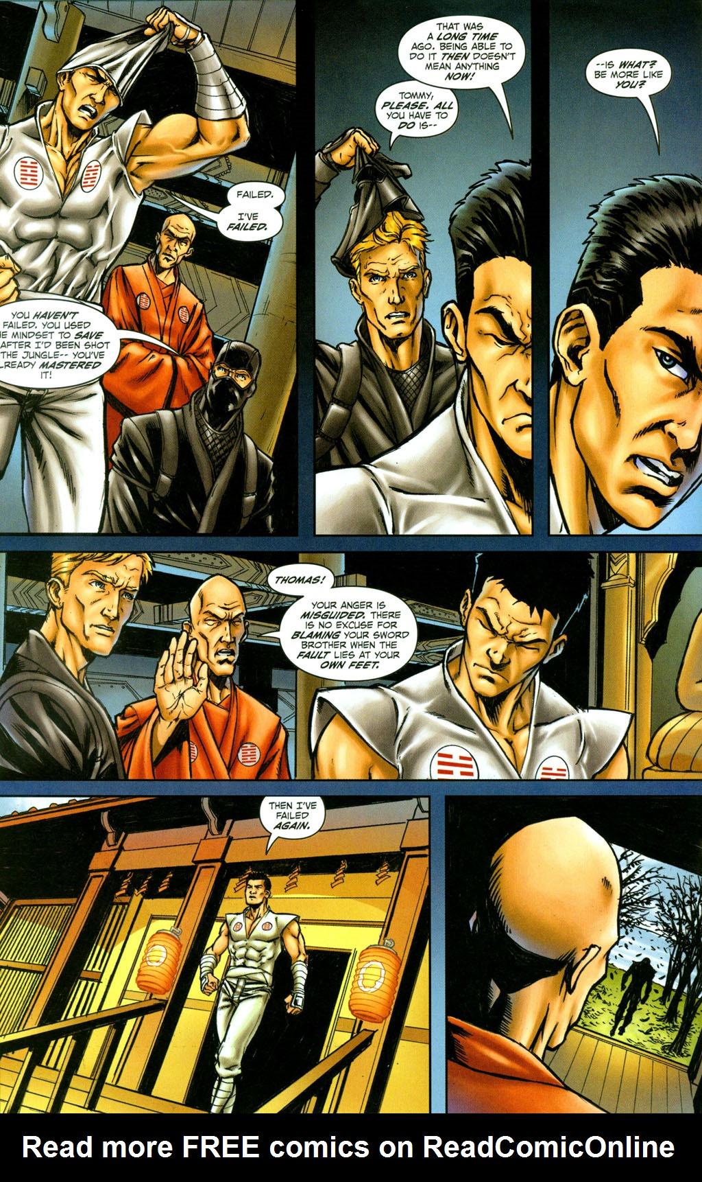 Read online Snake Eyes: Declassified comic -  Issue #4 - 14