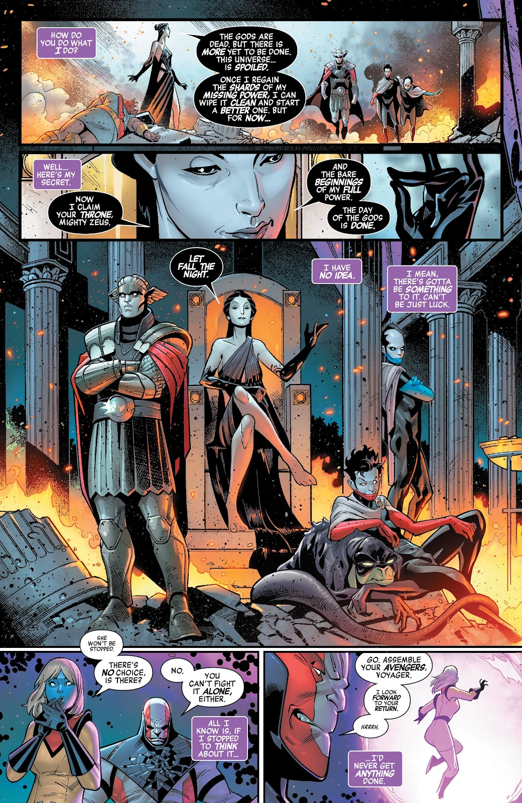 Read online Avengers No Road Home comic -  Issue #2 - 10
