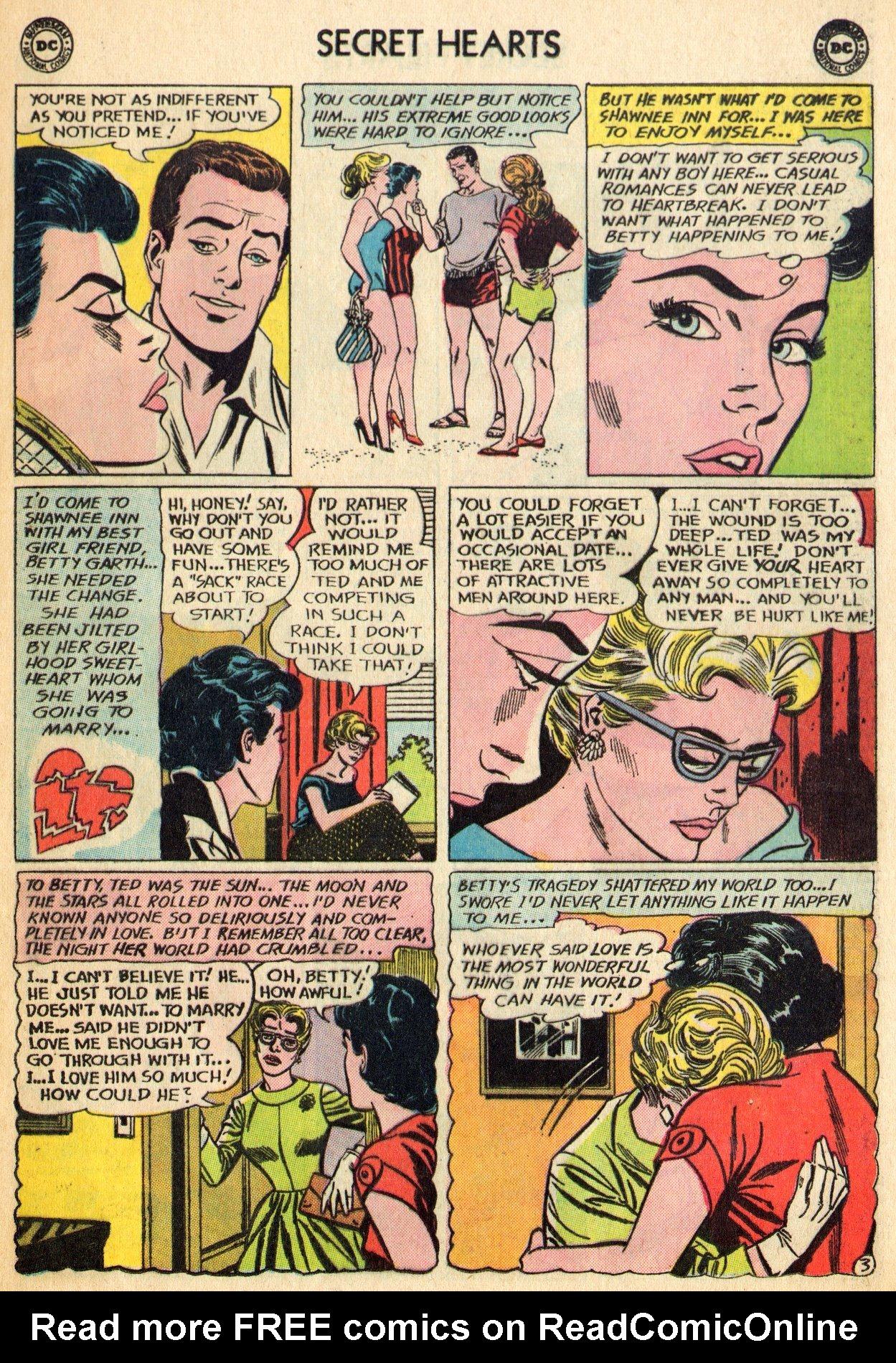 Read online Secret Hearts comic -  Issue #96 - 5