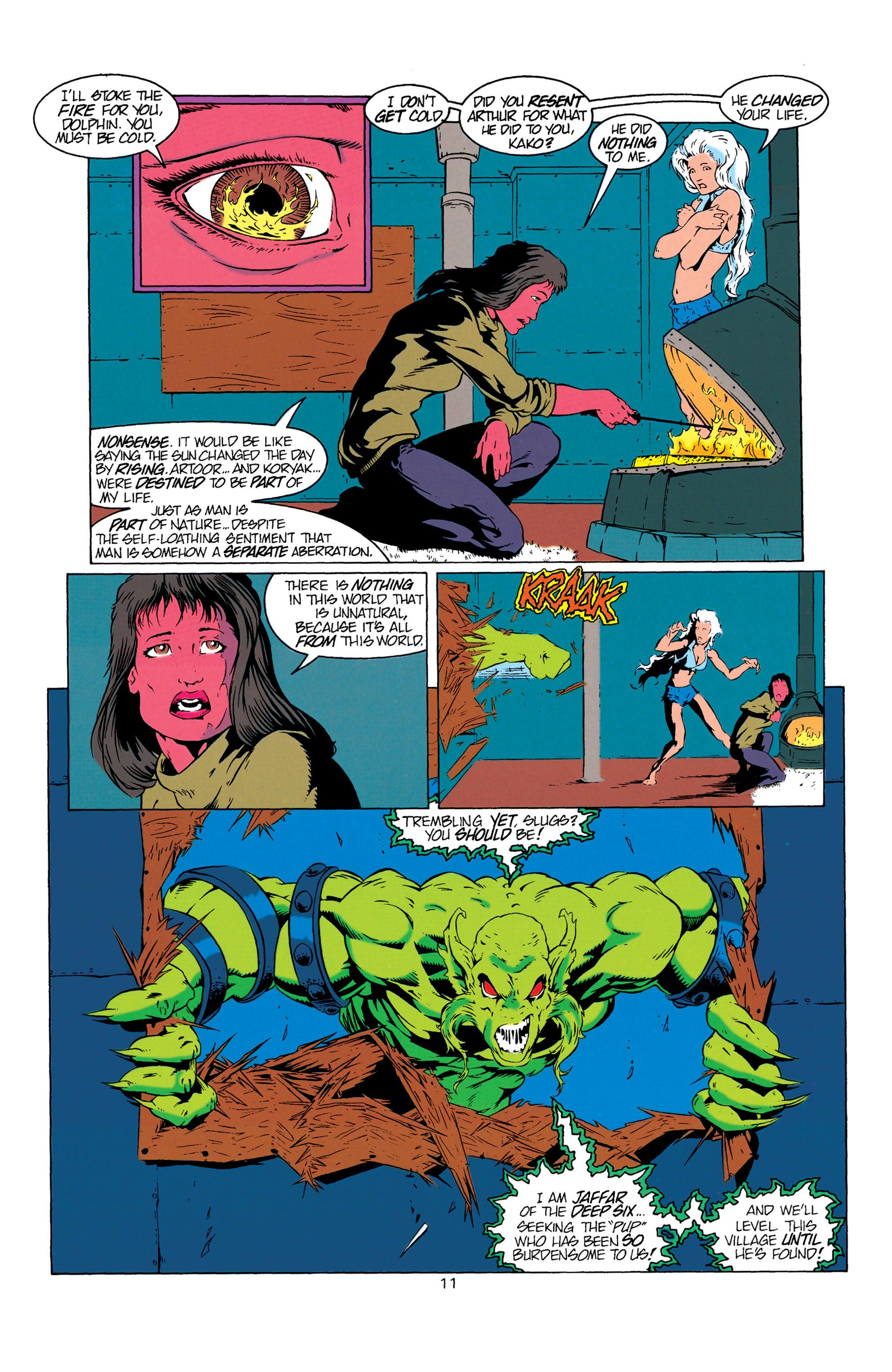 Read online Aquaman (1994) comic -  Issue #6 - 12