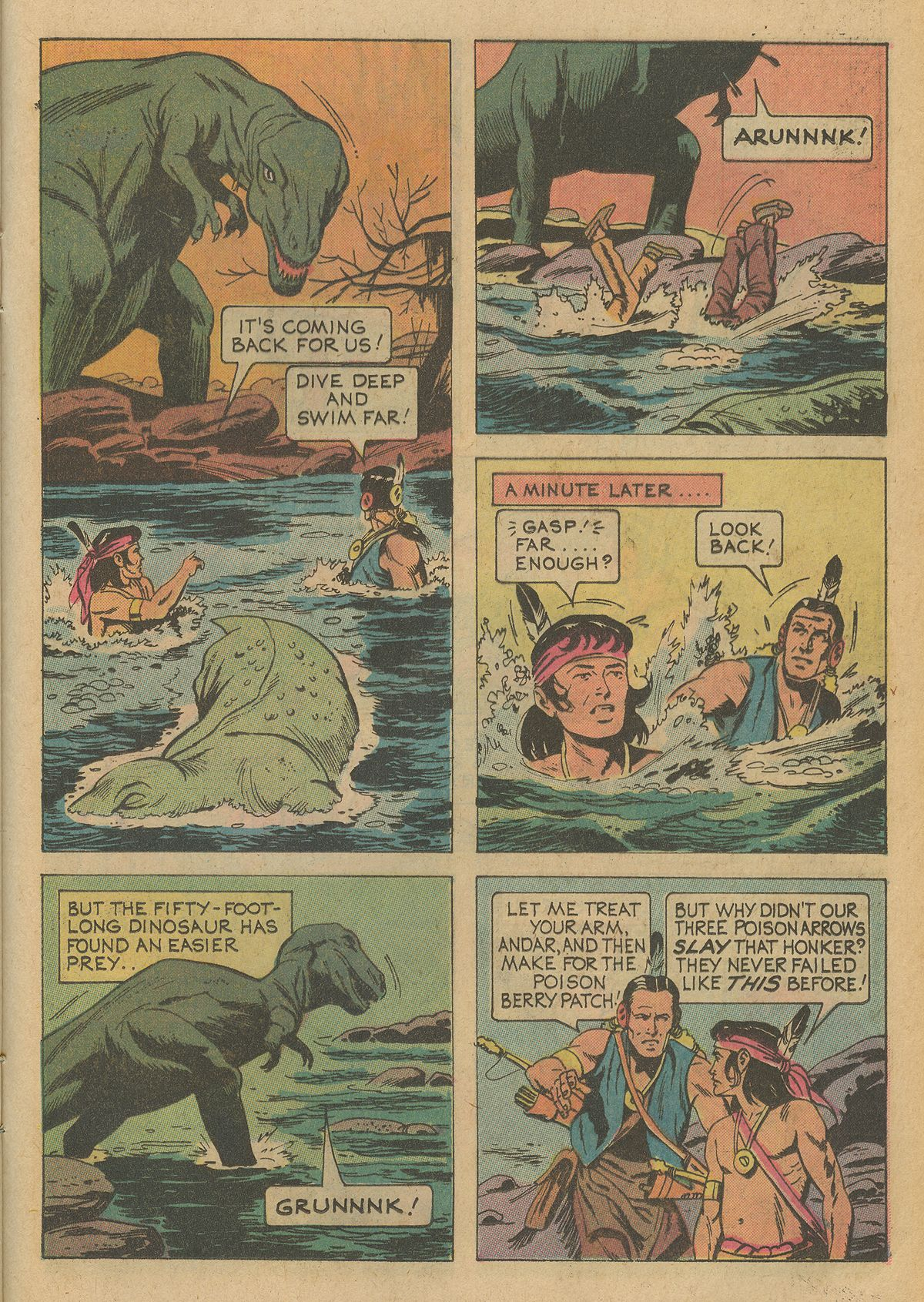 Read online Turok, Son of Stone comic -  Issue #95 - 25
