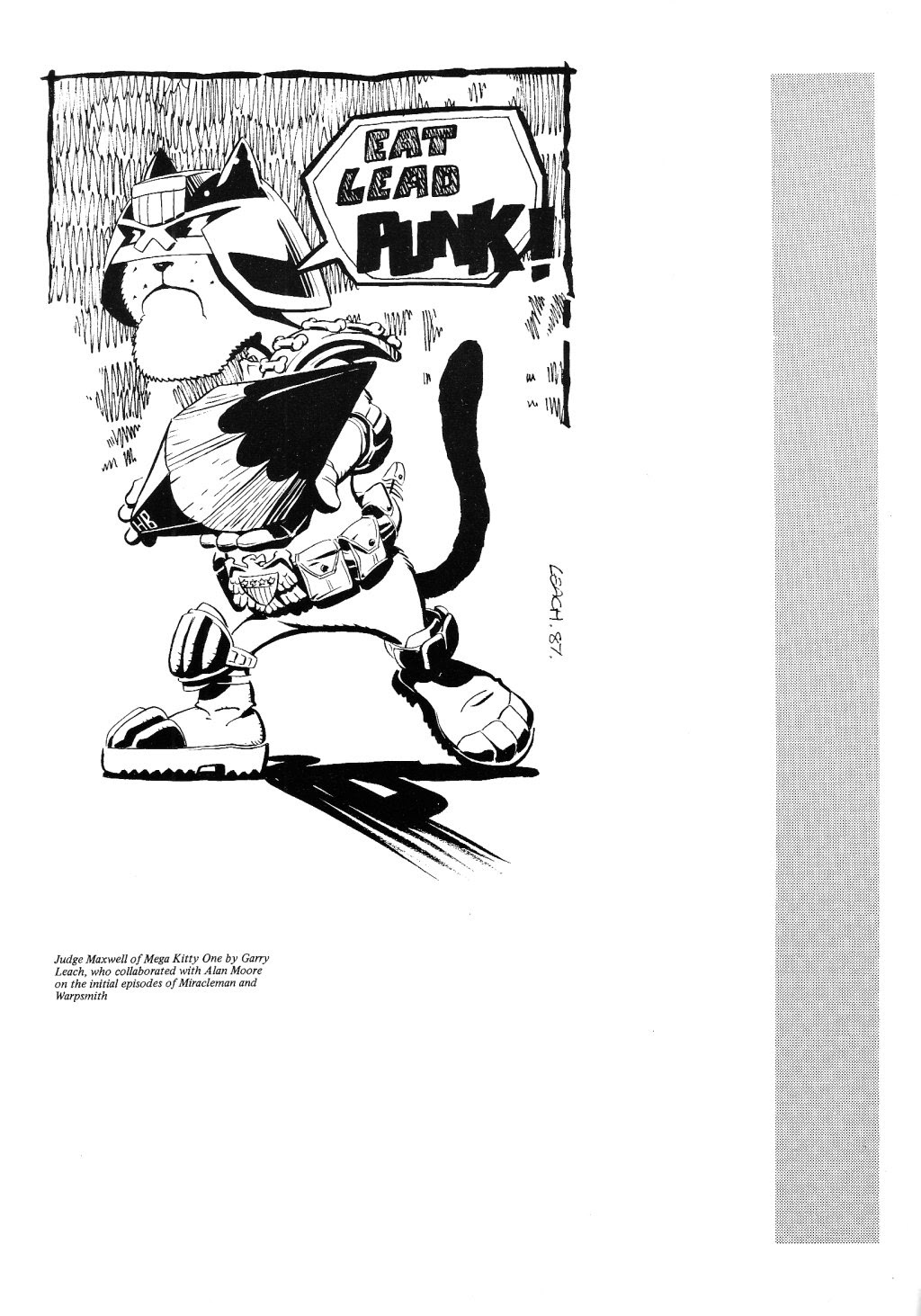 Read online Alan Moore's Maxwell the Magic Cat comic -  Issue #3 - 9