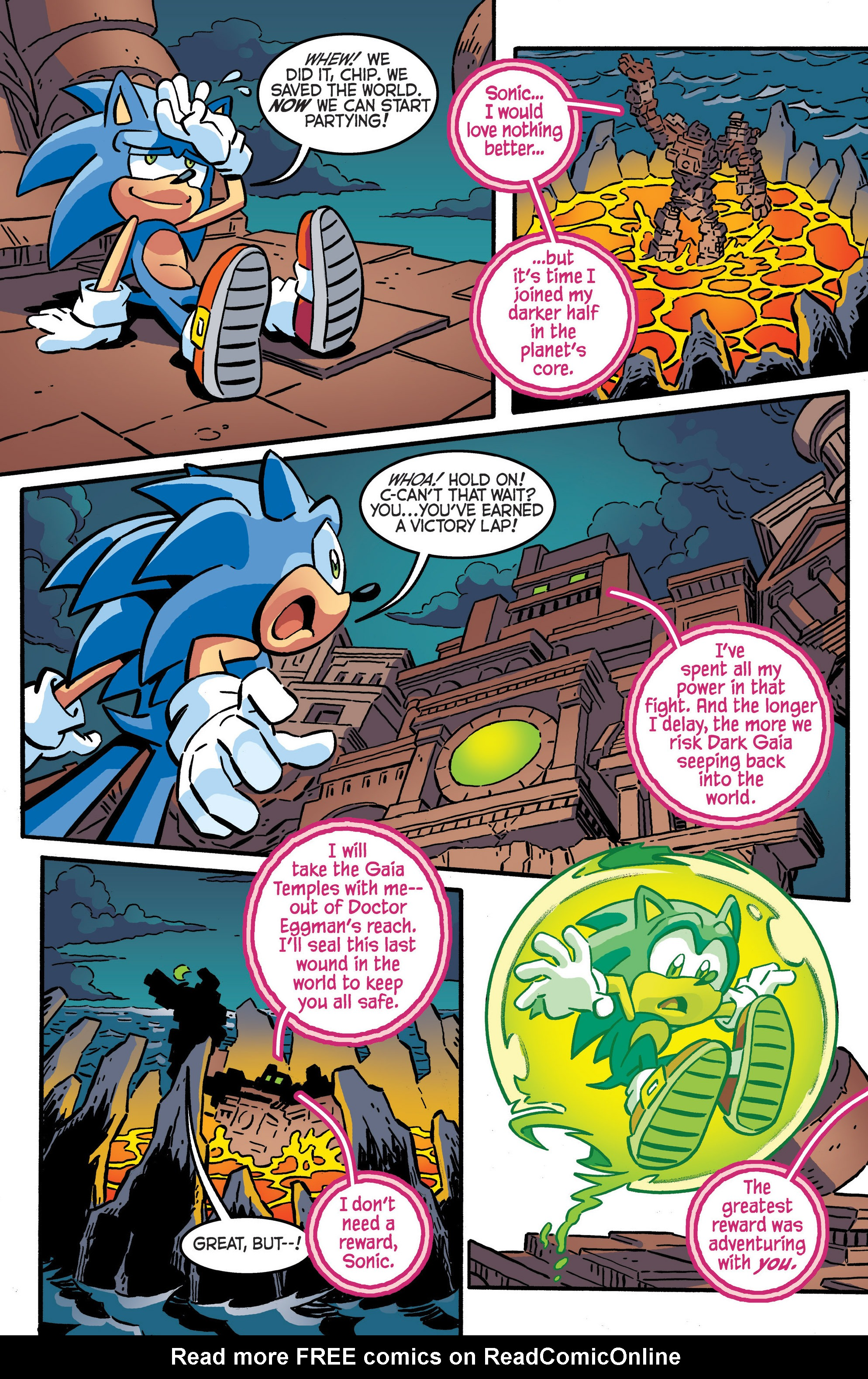 Read online Sonic The Hedgehog comic -  Issue #287 - 16