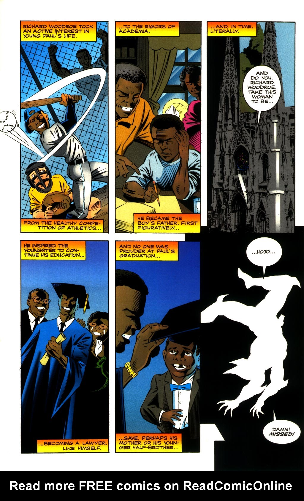 Read online ShadowHawk comic -  Issue #8 - 15
