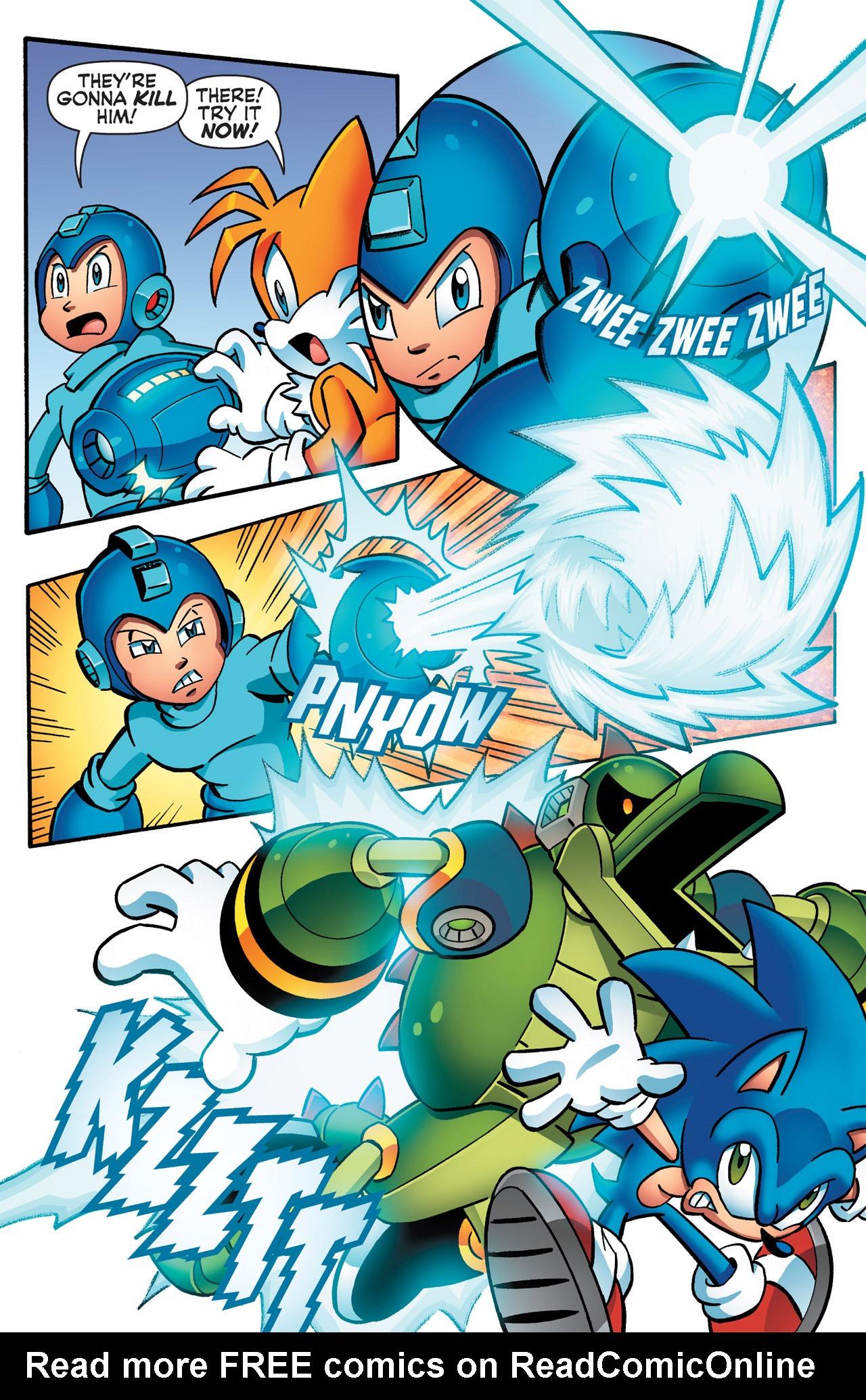 Read online Sonic Mega Man Worlds Collide comic -  Issue # Vol 2 - 44