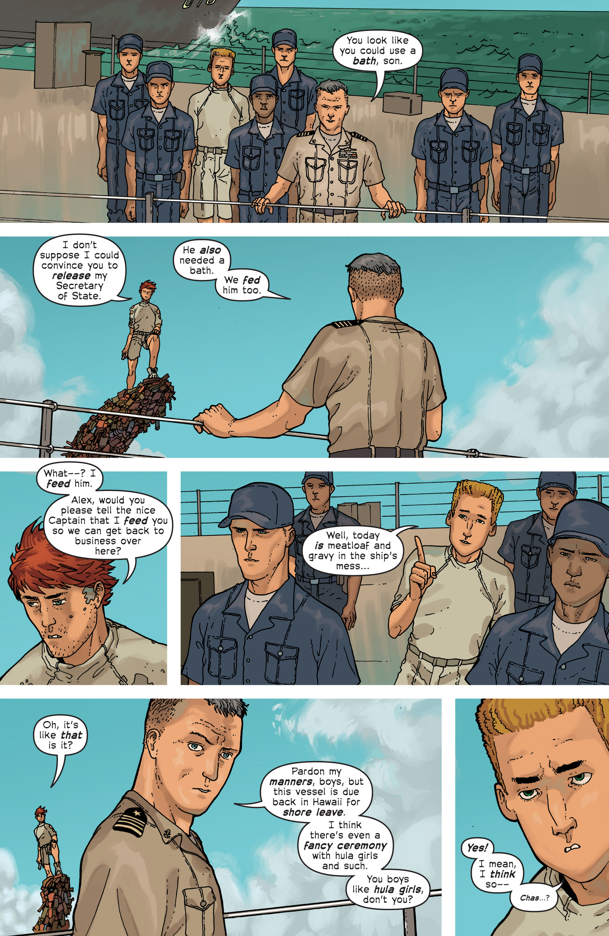 Read online Great Pacific comic -  Issue #6 - 8
