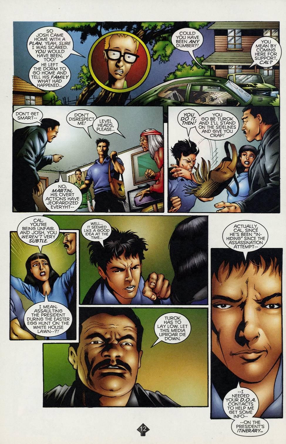 Read online Turok comic -  Issue #2 - 9
