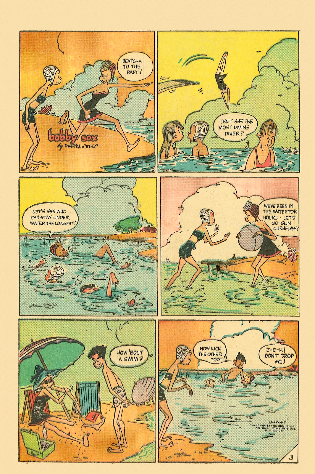 Read online Famous Funnies comic -  Issue #181 - 32