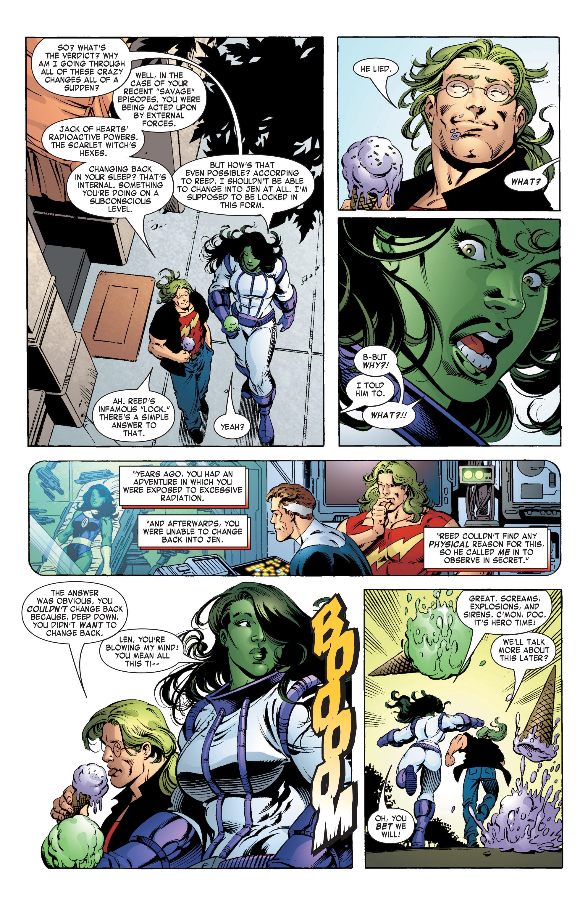 Read online She-Hulk (2004) comic -  Issue #11 - 17