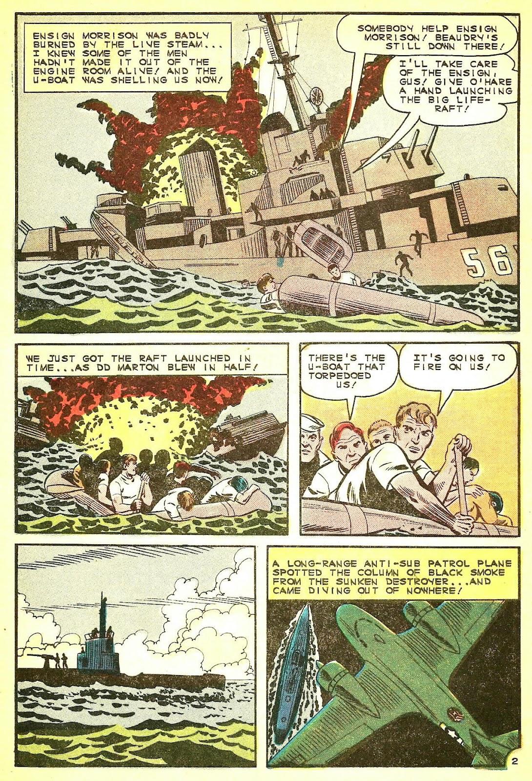 Read online Fightin' Navy comic -  Issue #124 - 4