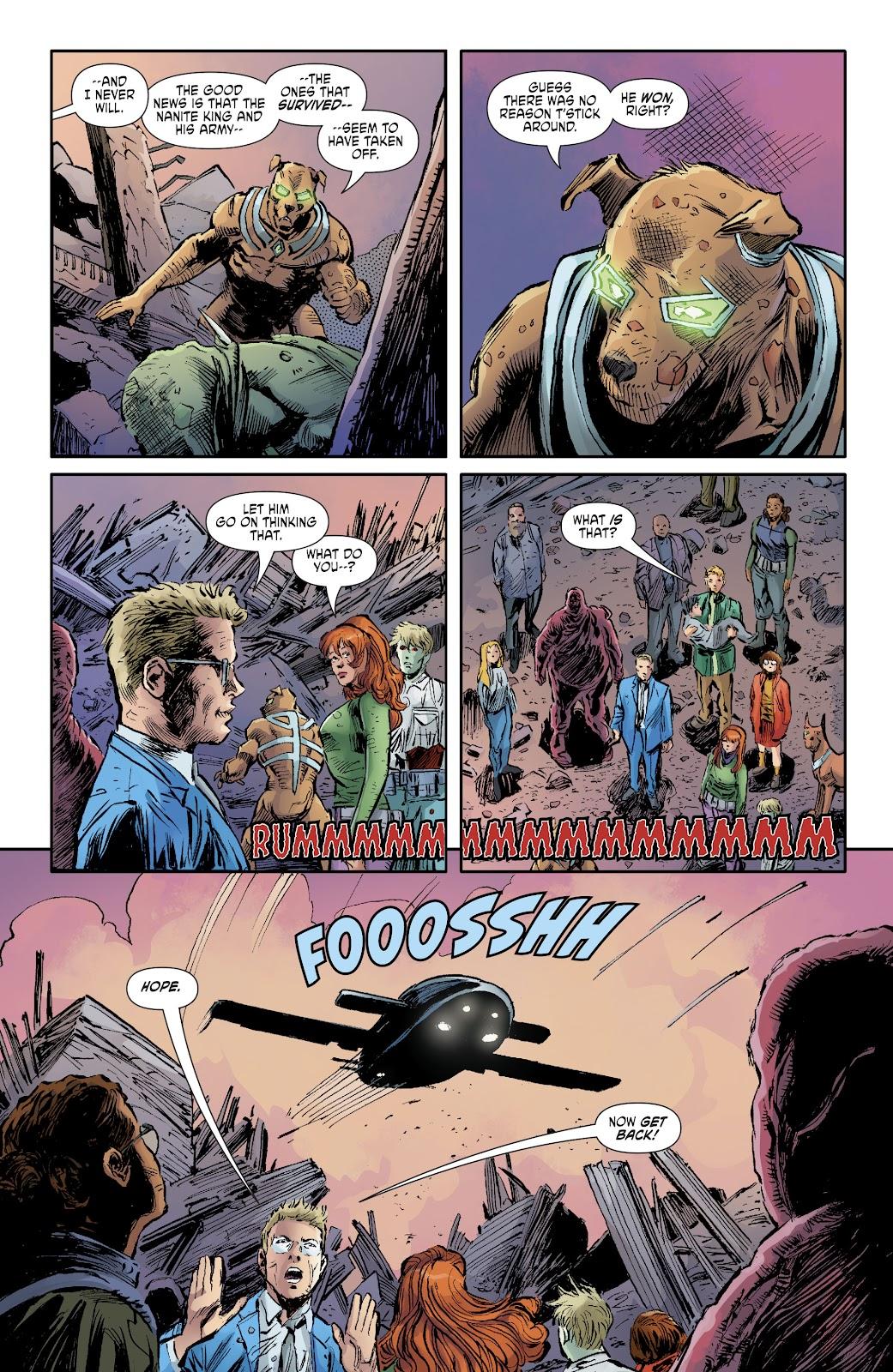 Read online Scooby Apocalypse comic -  Issue #35 - 10
