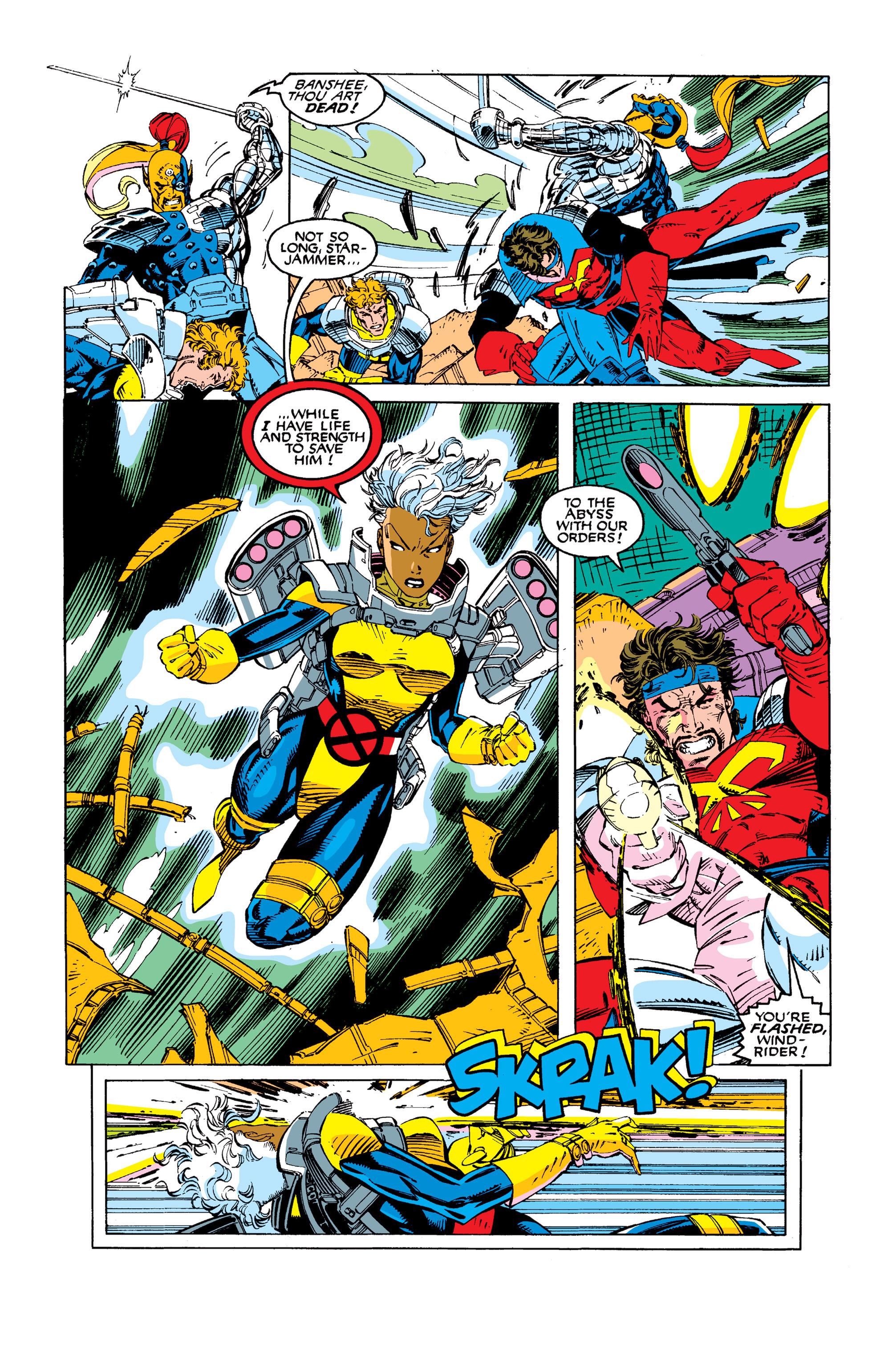 Read online Uncanny X-Men (1963) comic -  Issue #277 - 8