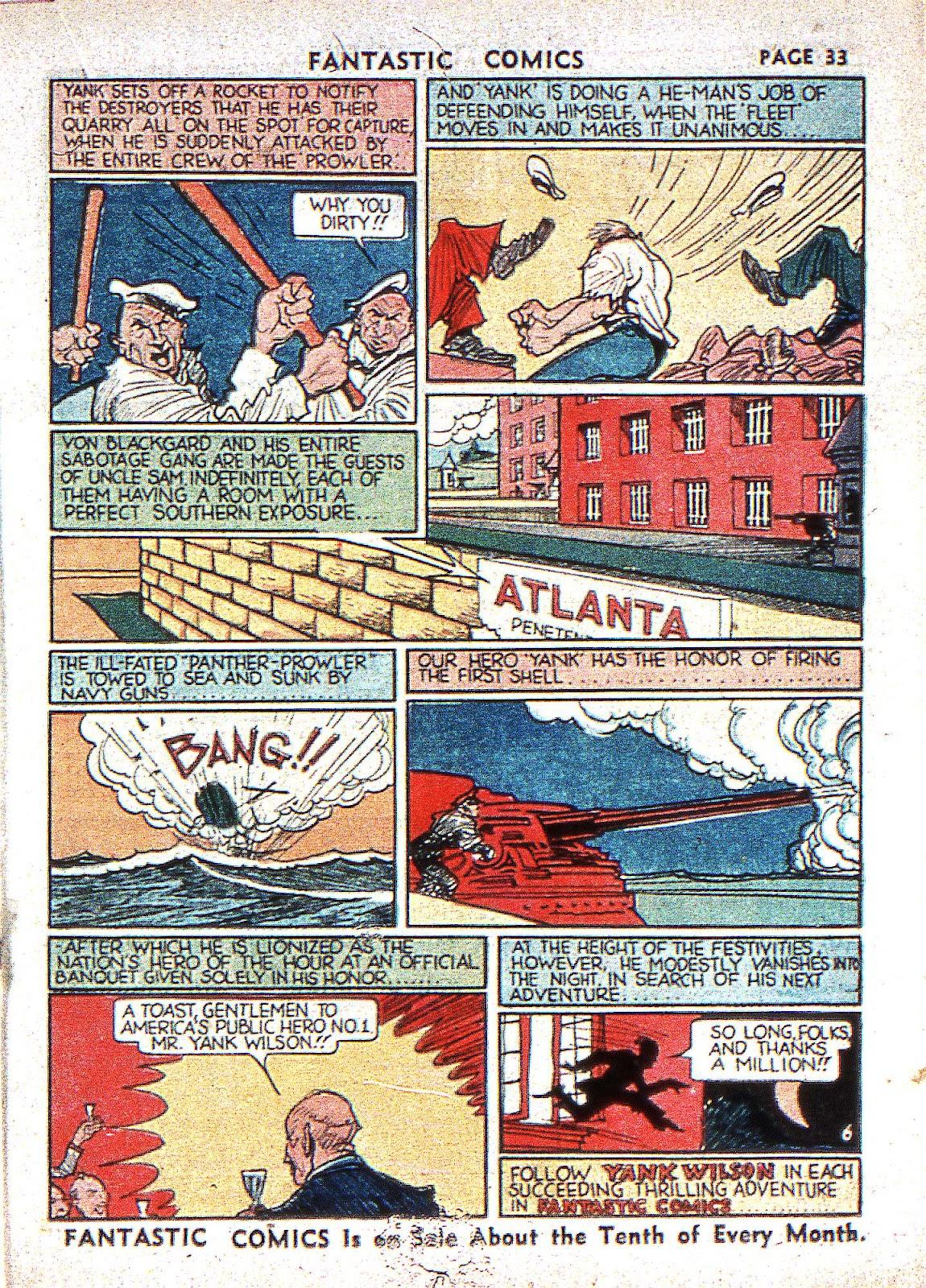 Read online Fantastic Comics comic -  Issue #2 - 35