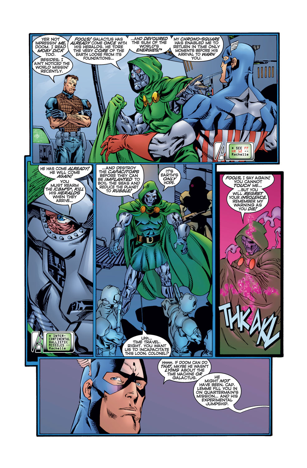 Read online Avengers (1996) comic -  Issue #12 - 7