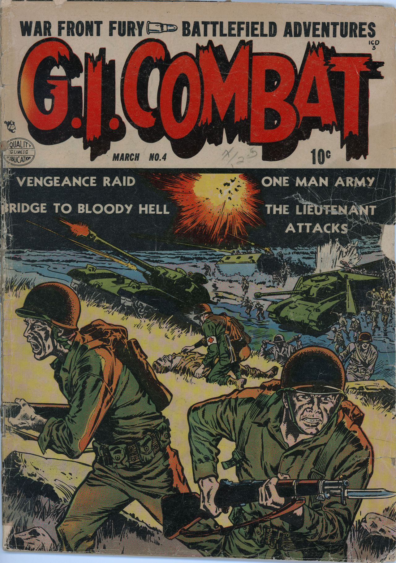 G.I. Combat (1952) 4 Page 1