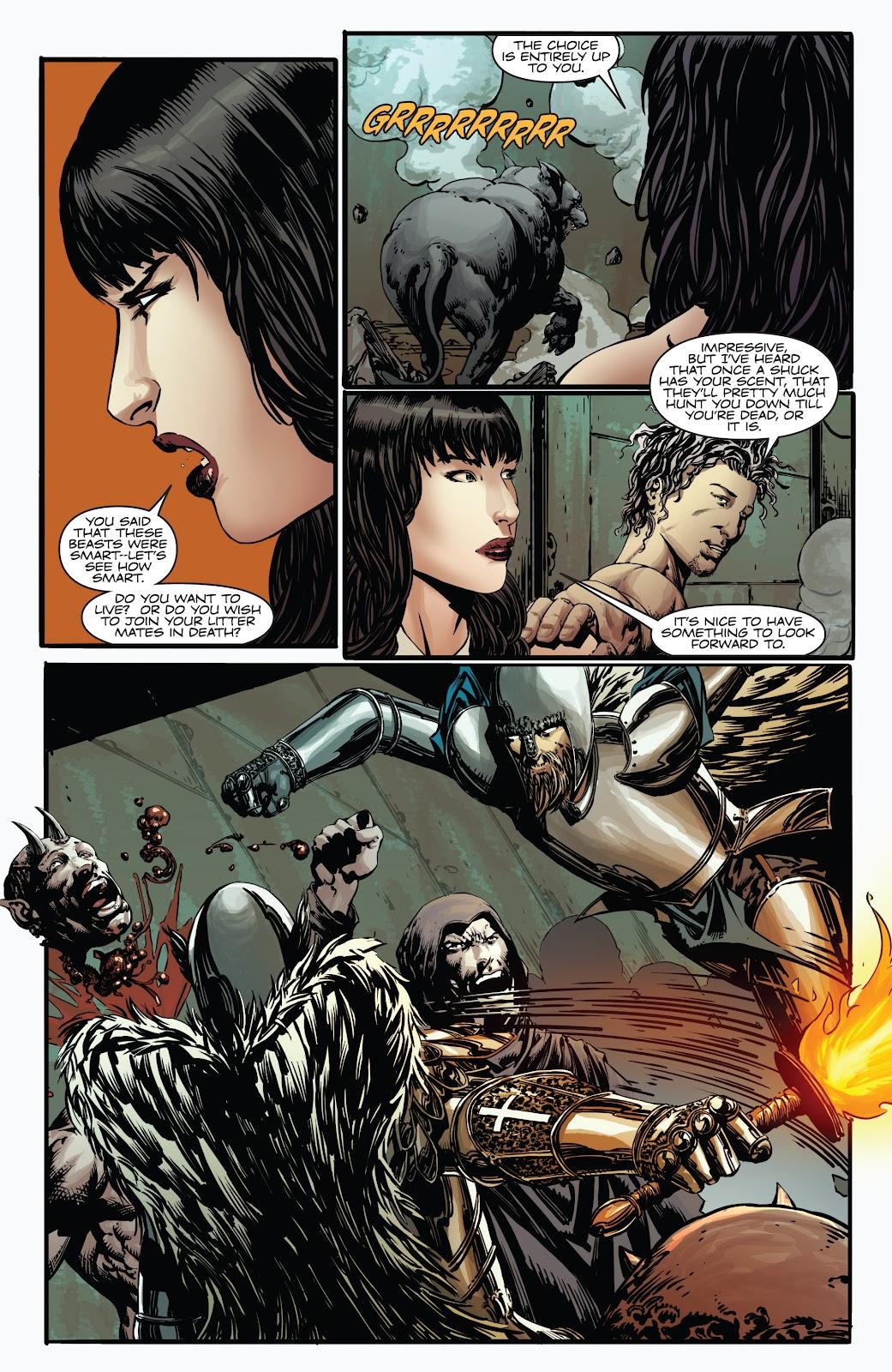 Read online Vampirella Strikes comic -  Issue #4 - 13