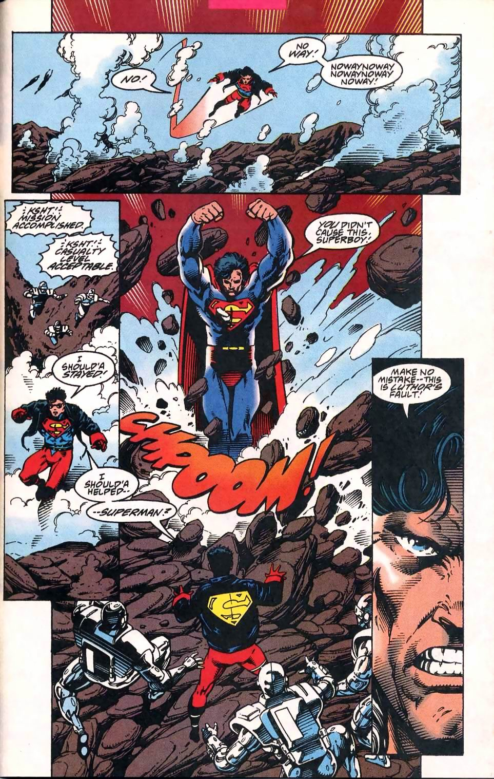 Read online Adventures of Superman (1987) comic -  Issue #513 - 22