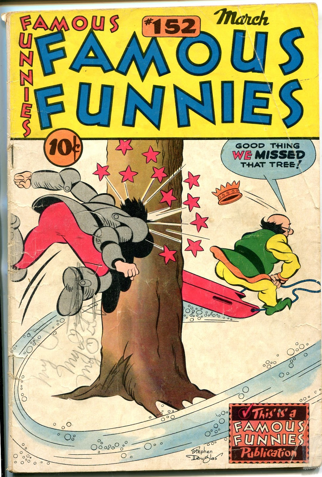 Read online Famous Funnies comic -  Issue #152 - 1