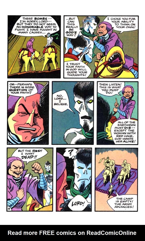 Read online Mars comic -  Issue #9 - 12