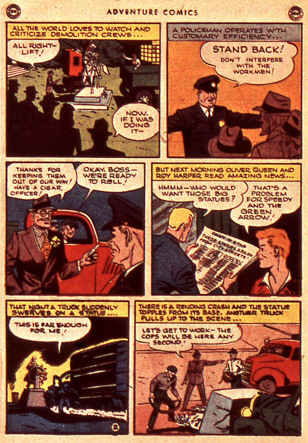 Read online Adventure Comics (1938) comic -  Issue #106 - 12
