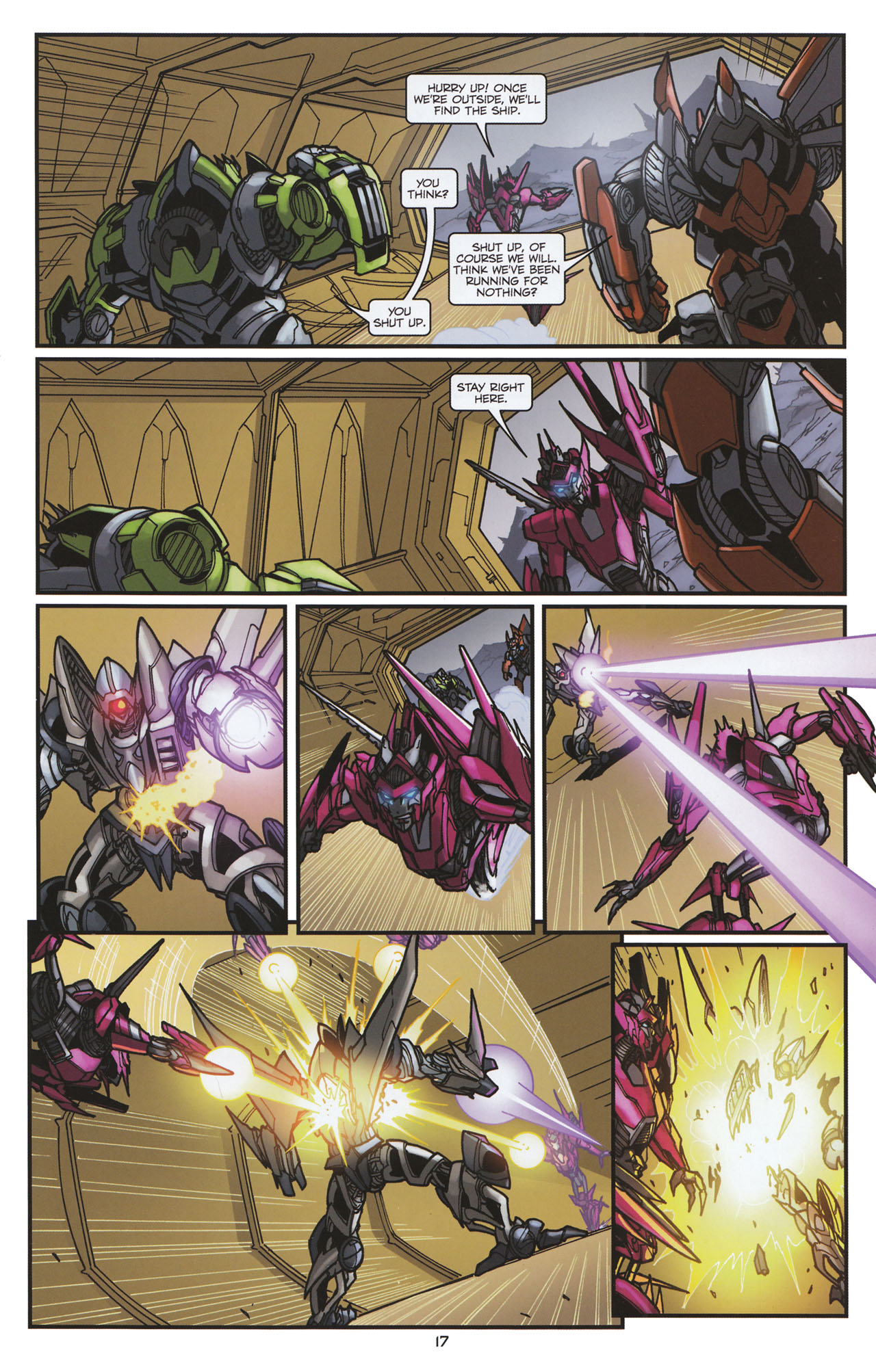Read online Transformers: Tales of The Fallen comic -  Issue #6 - 19