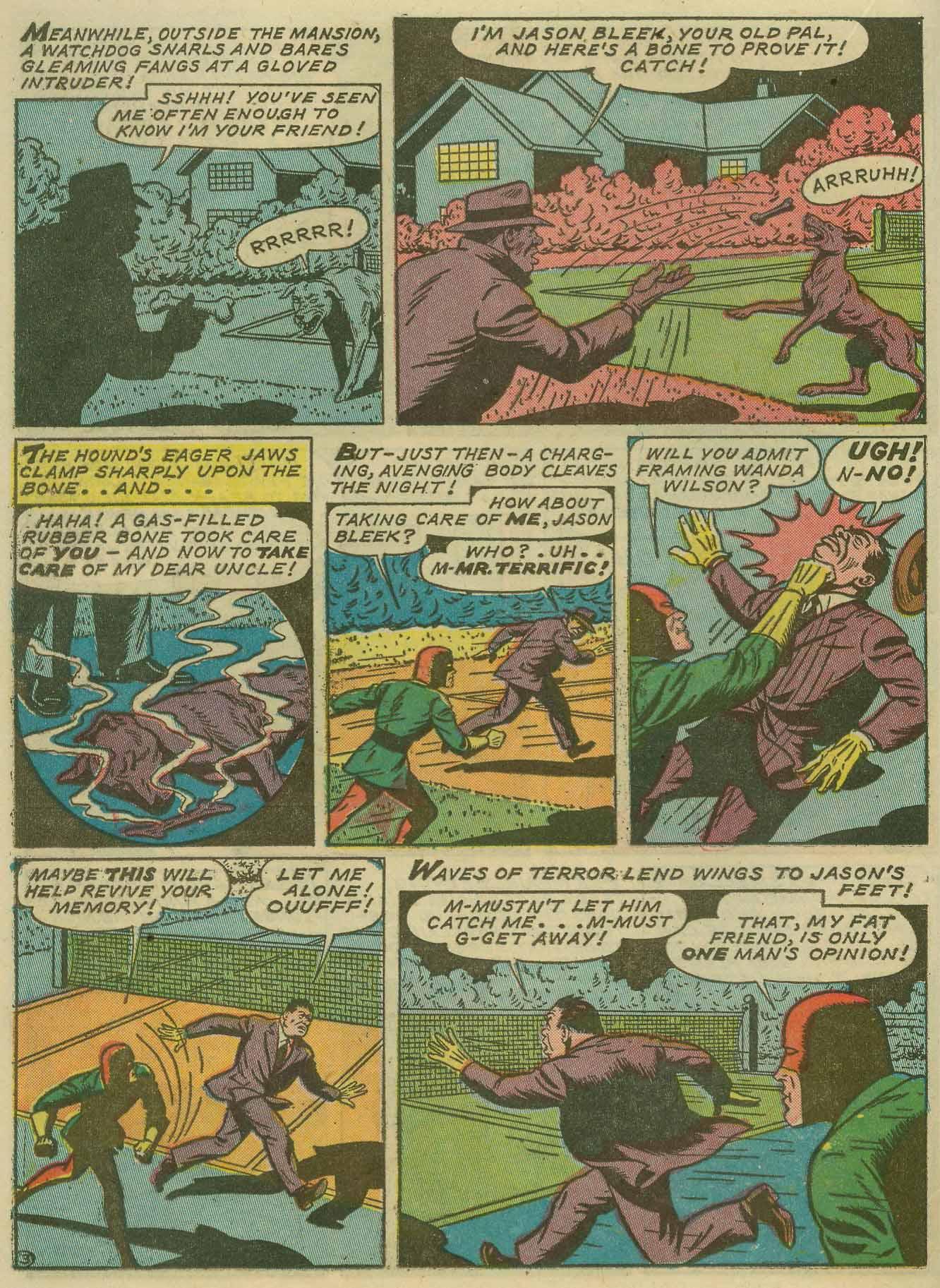 Read online Sensation (Mystery) Comics comic -  Issue #14 - 40