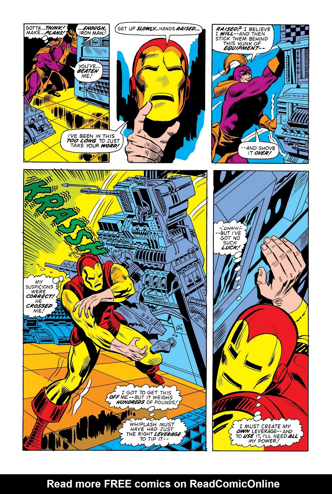 Read online Marvel Masterworks: The Invincible Iron Man comic -  Issue # TPB 9 (Part 2) - 91