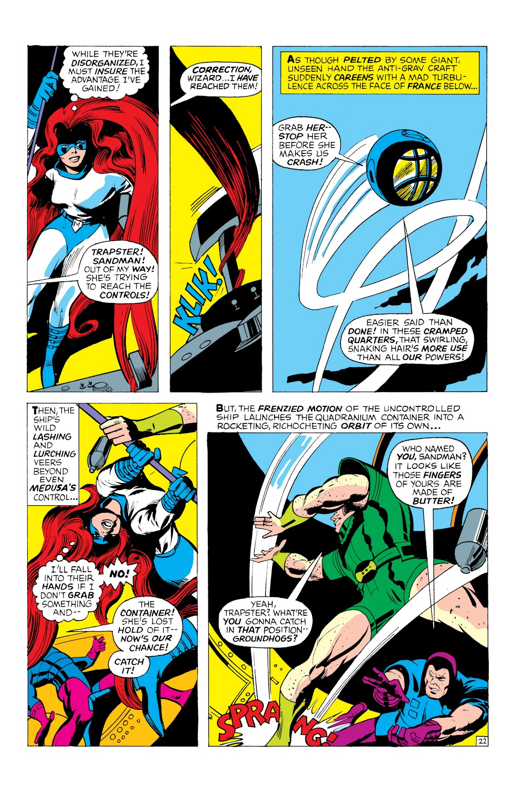 Read online Marvel Masterworks: The Inhumans comic -  Issue # TPB 1 (Part 1) - 65