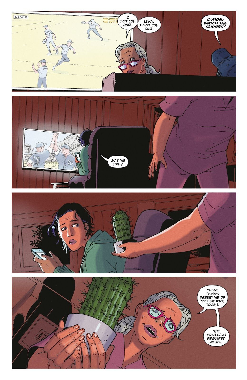 Read online She Could Fly comic -  Issue # _TPB - 14