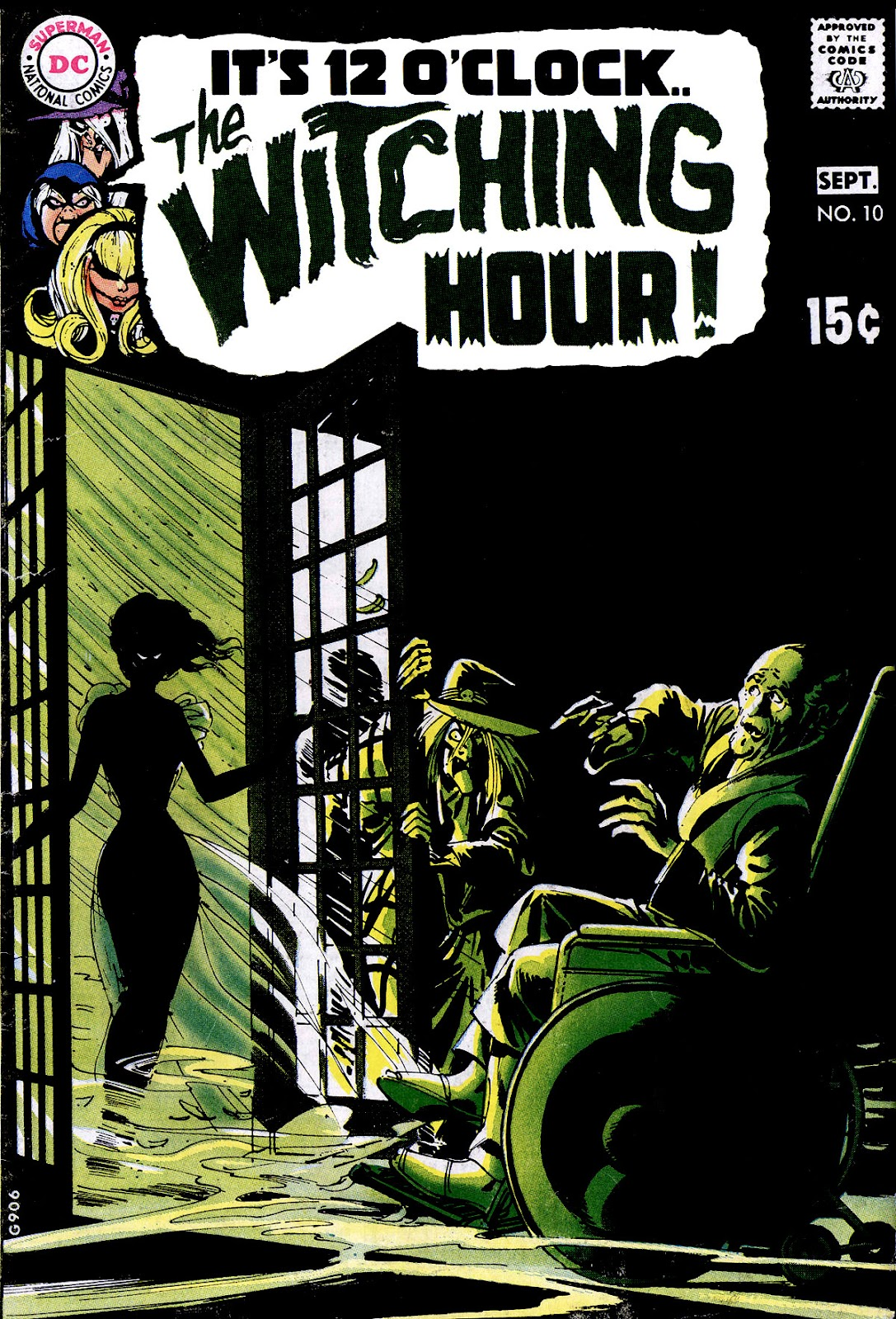 The Witching Hour (1969) issue 10 - Page 1