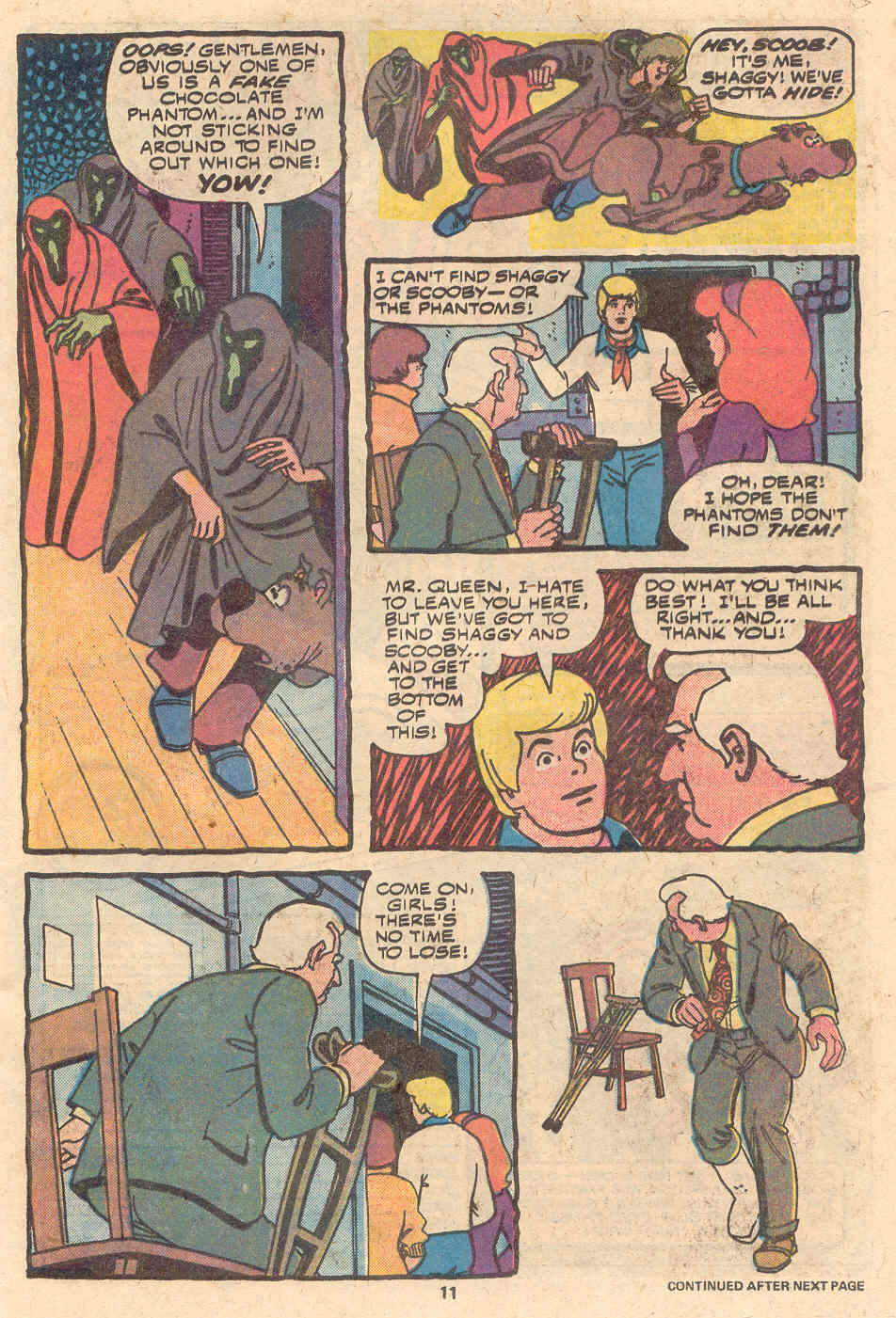 Read online Scooby-Doo (1977) comic -  Issue #1 - 8