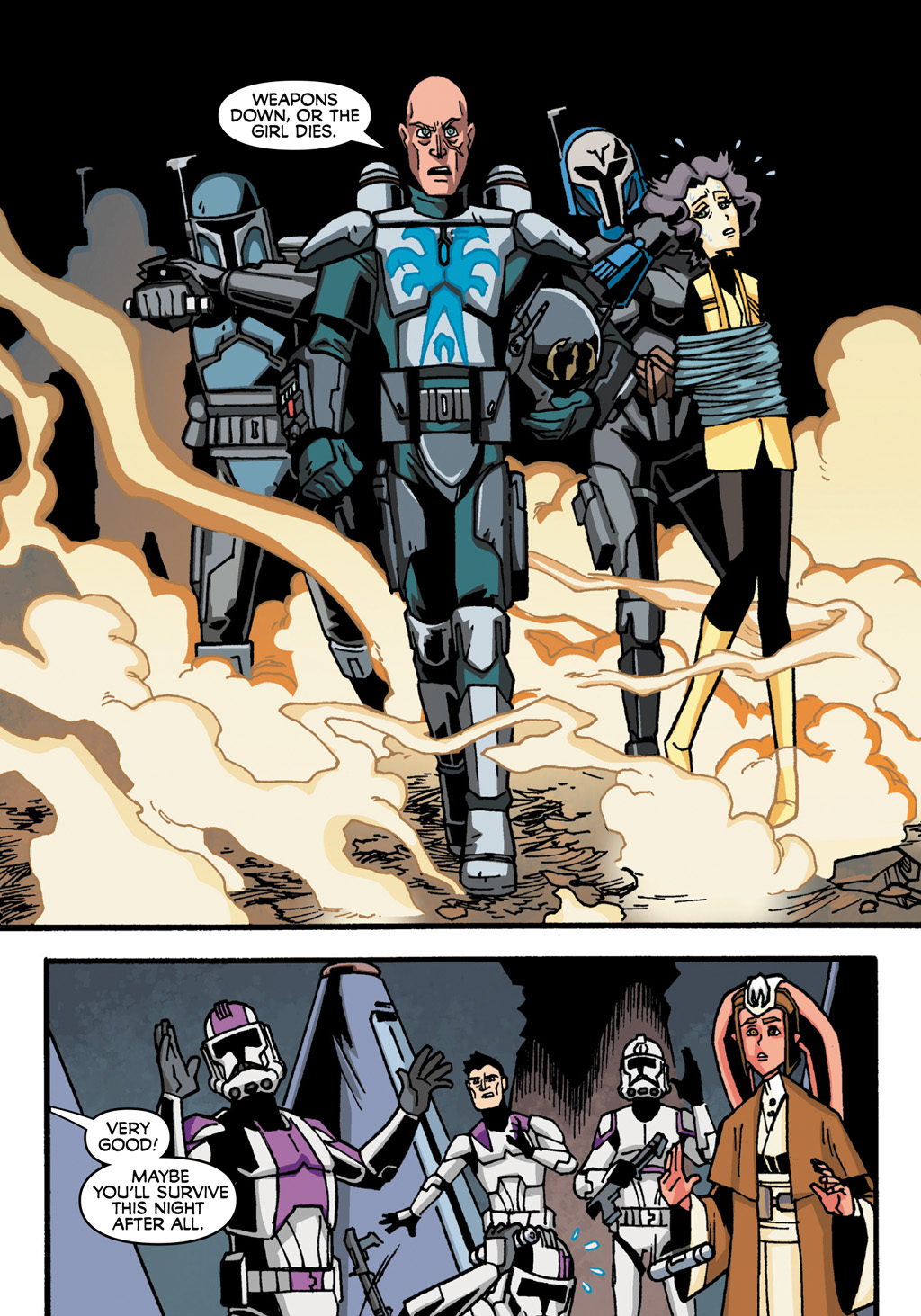 Read online Star Wars: The Clone Wars - Defenders of the Lost Temple comic -  Issue # Full - 54