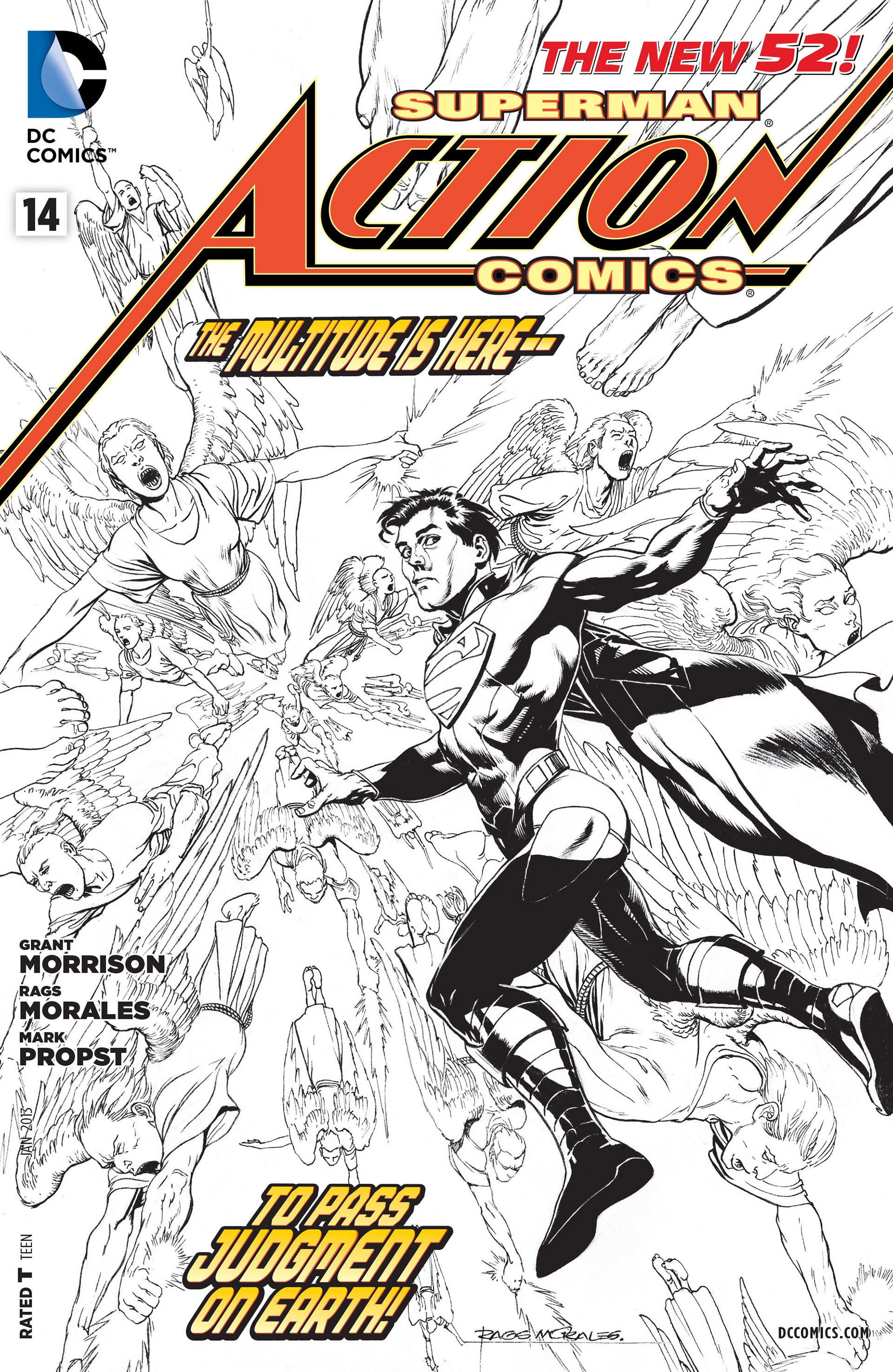 Read online Action Comics (2011) comic -  Issue #14 - 33